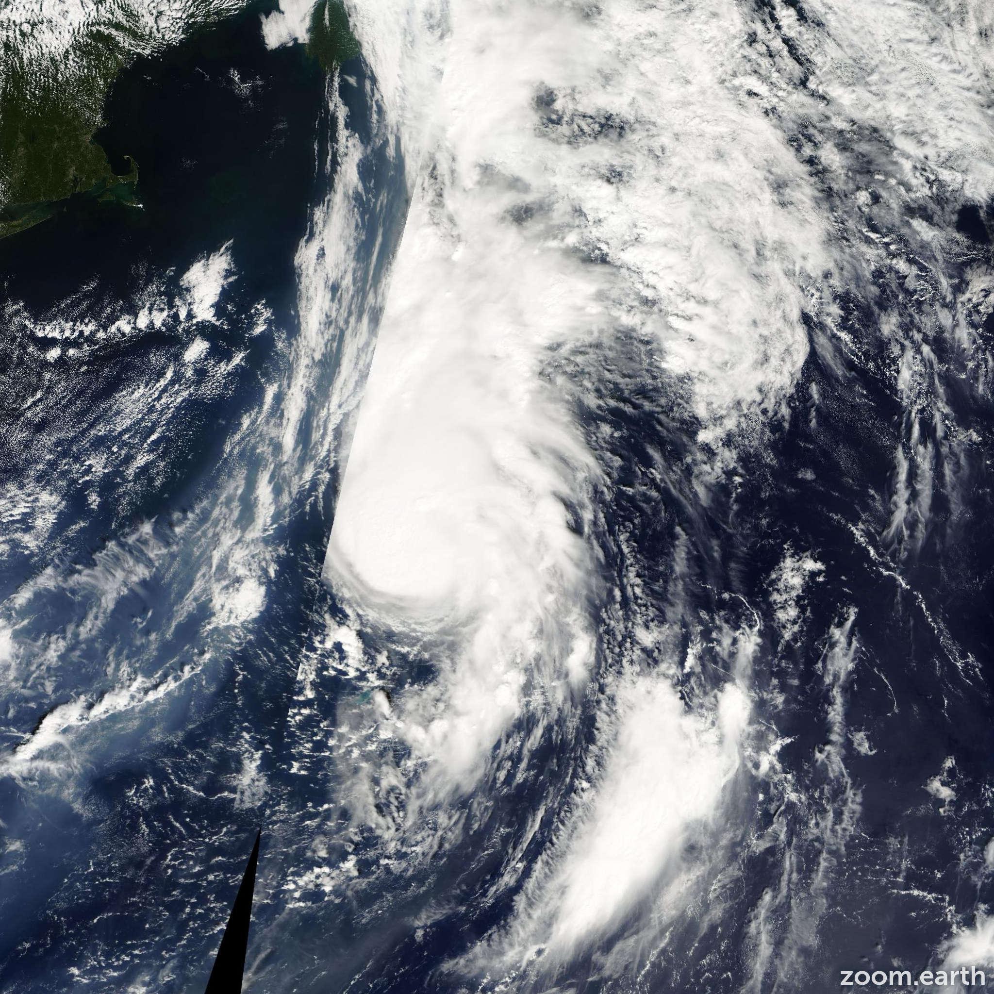 Satellite image of Hurricane Florence 2000