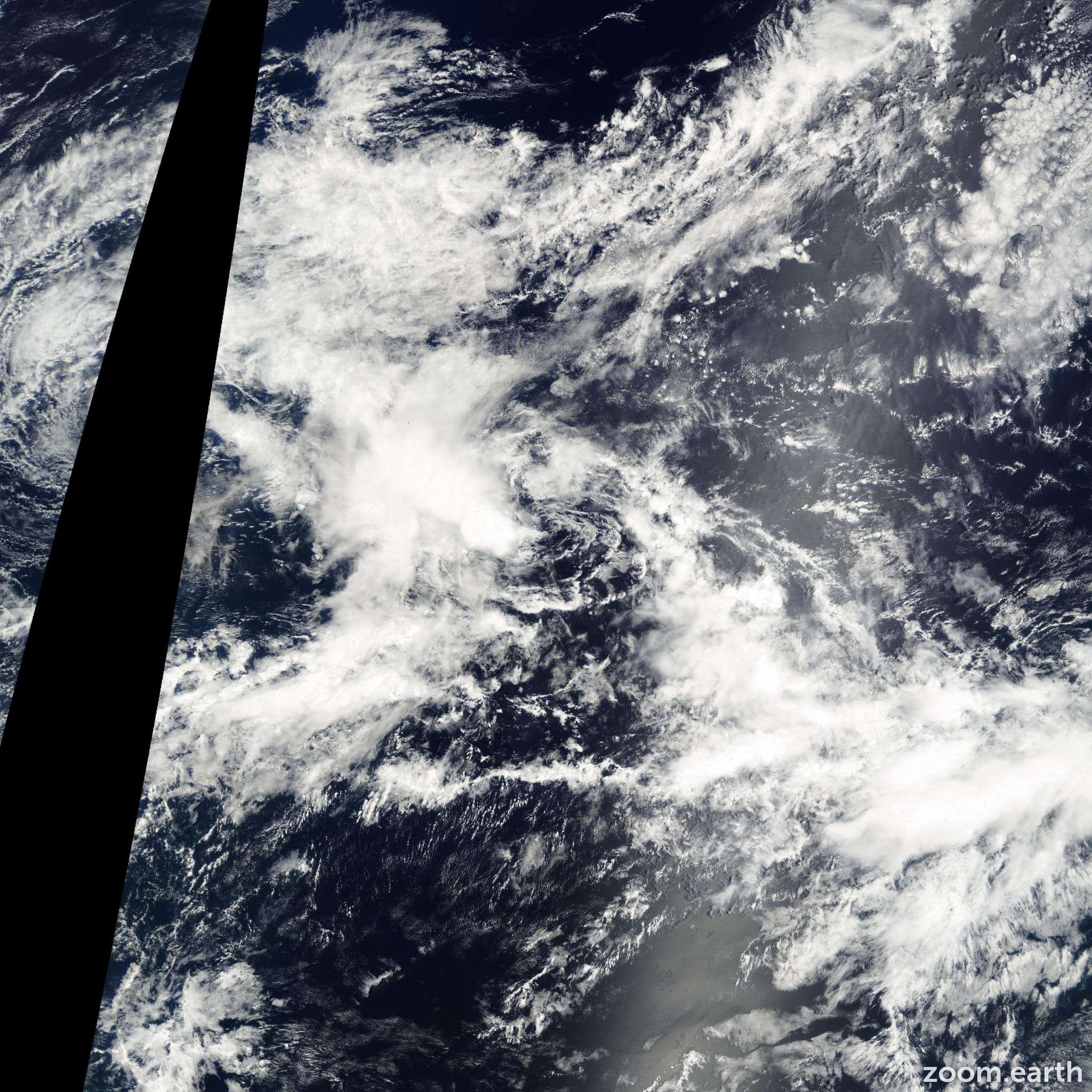 Satellite image of Storm Kristy 2000