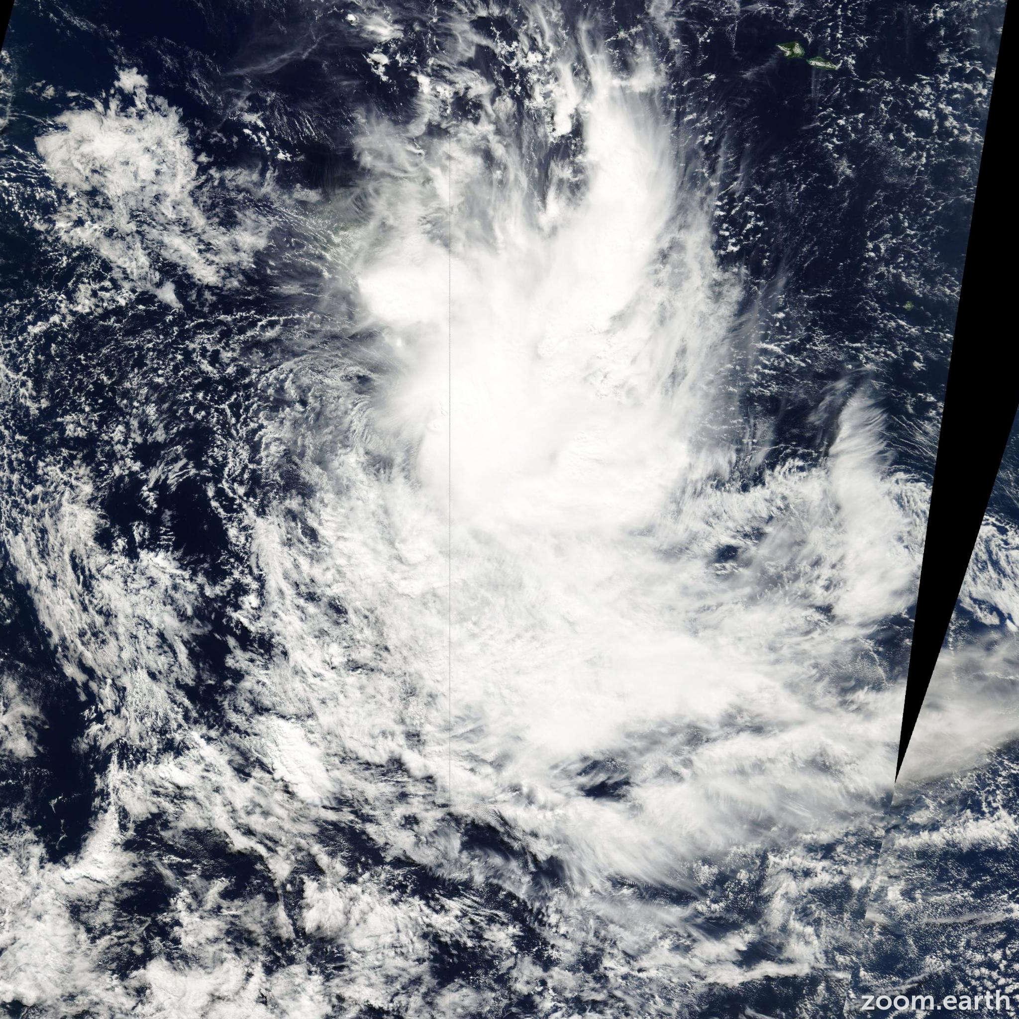 Satellite image of Cyclone Neil 2000