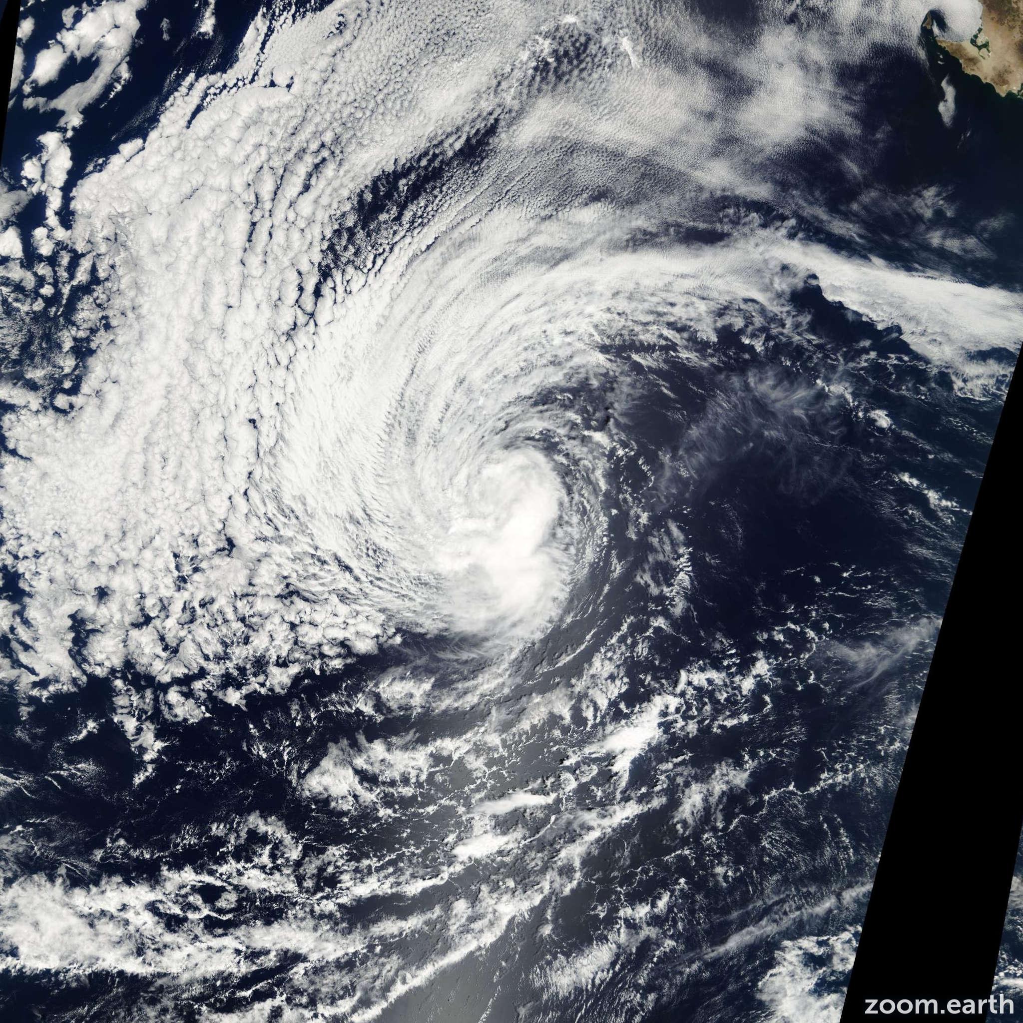 Satellite image of Hurricane Kiko 2001
