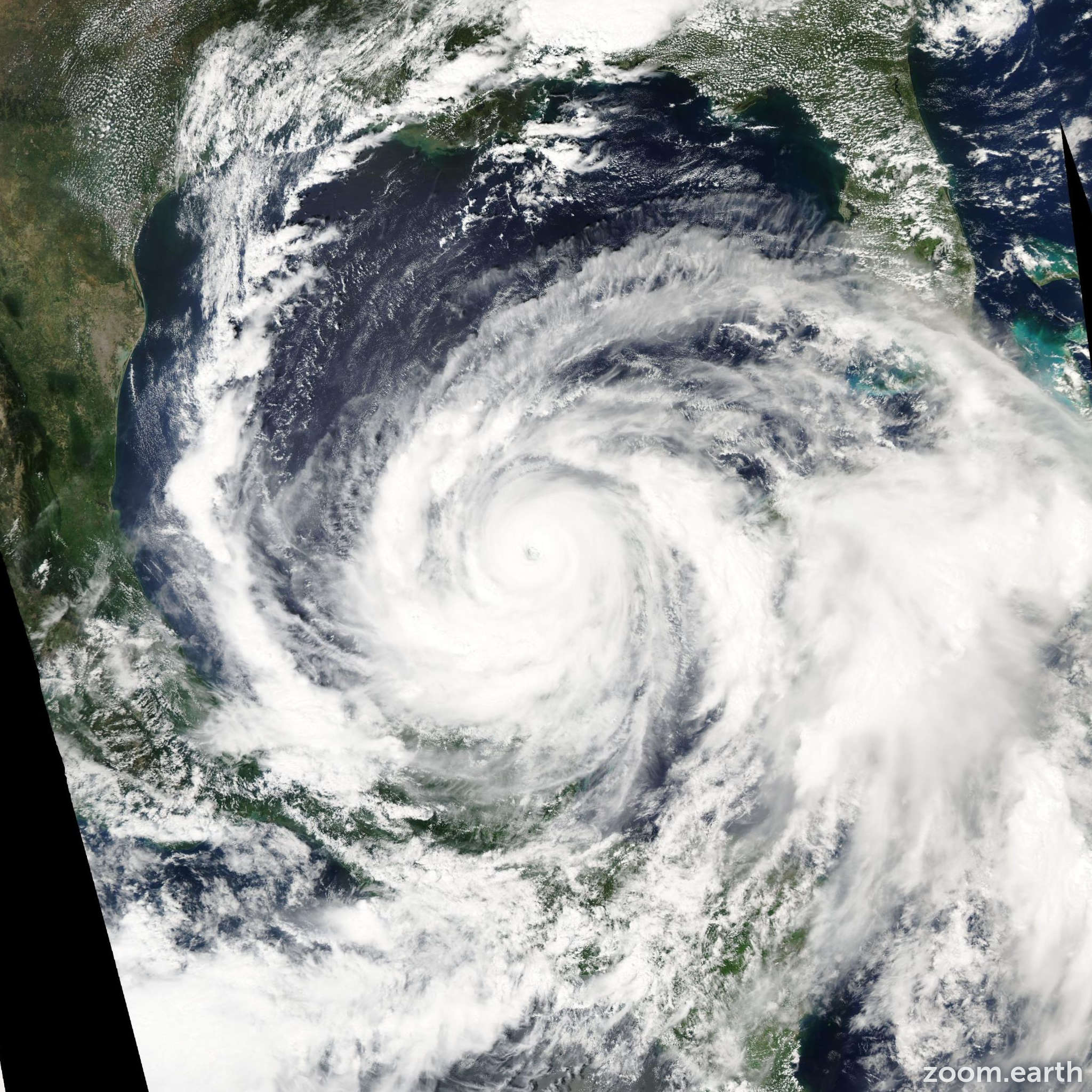Satellite image of Hurricane Isidore 2002