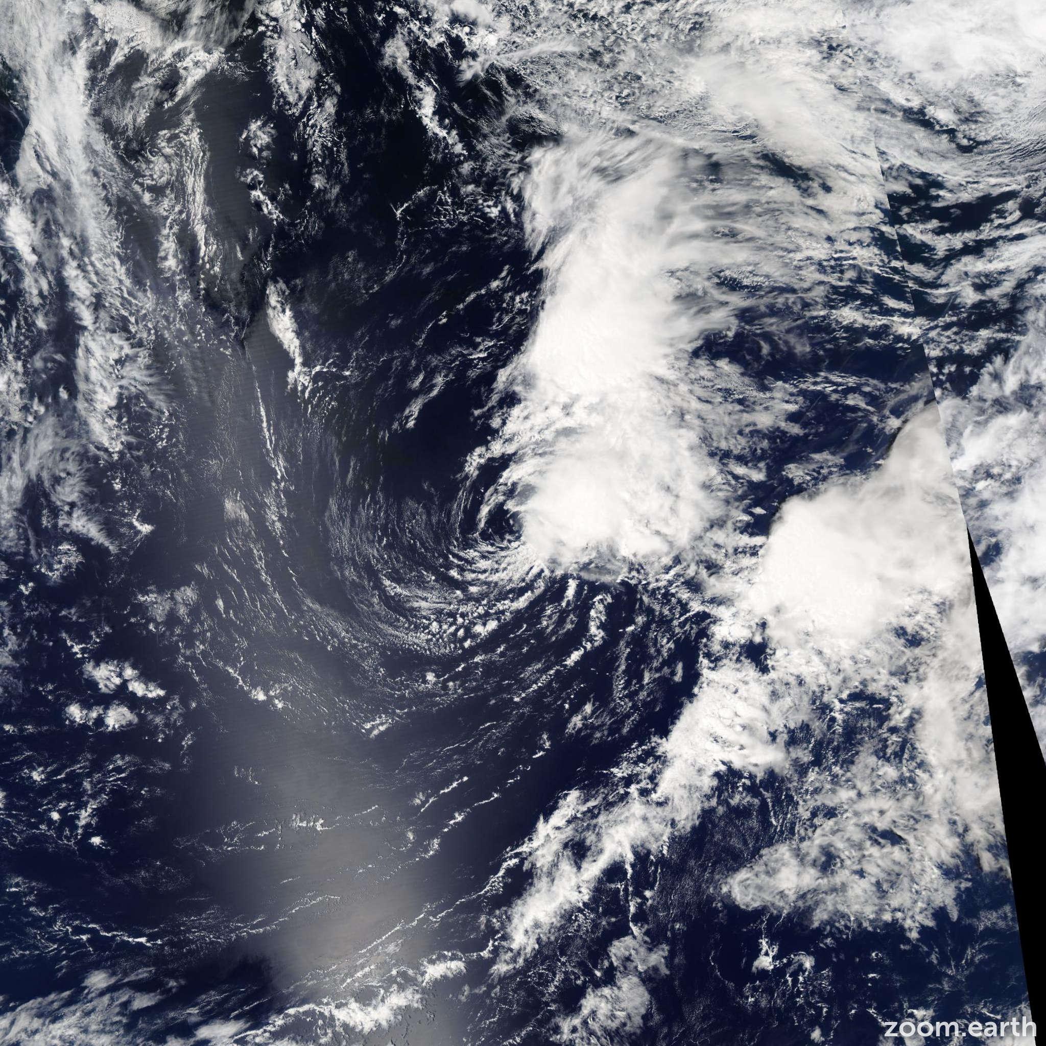 Satellite image of Storm Ana 2003