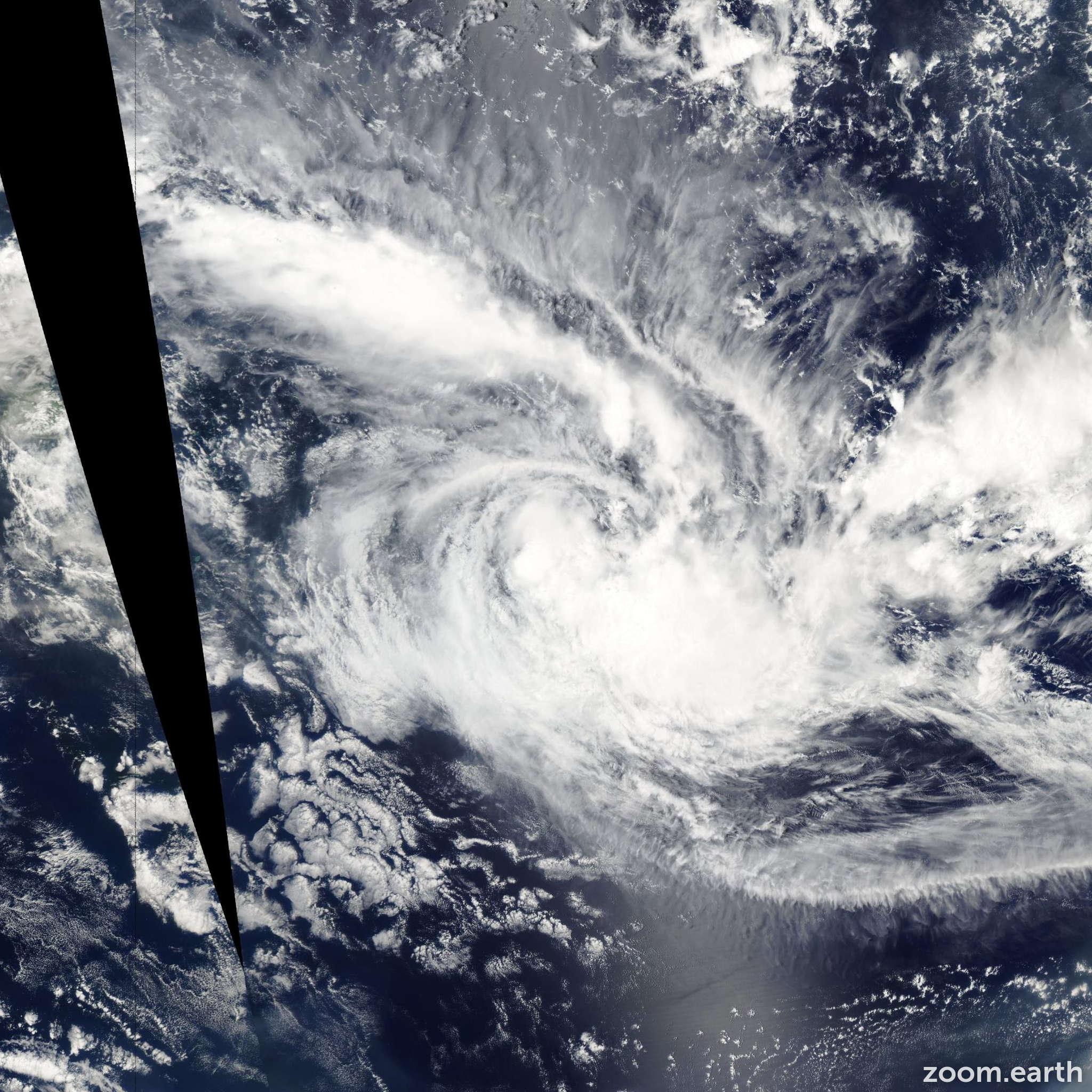 Satellite image of Cyclone Cilla 2003
