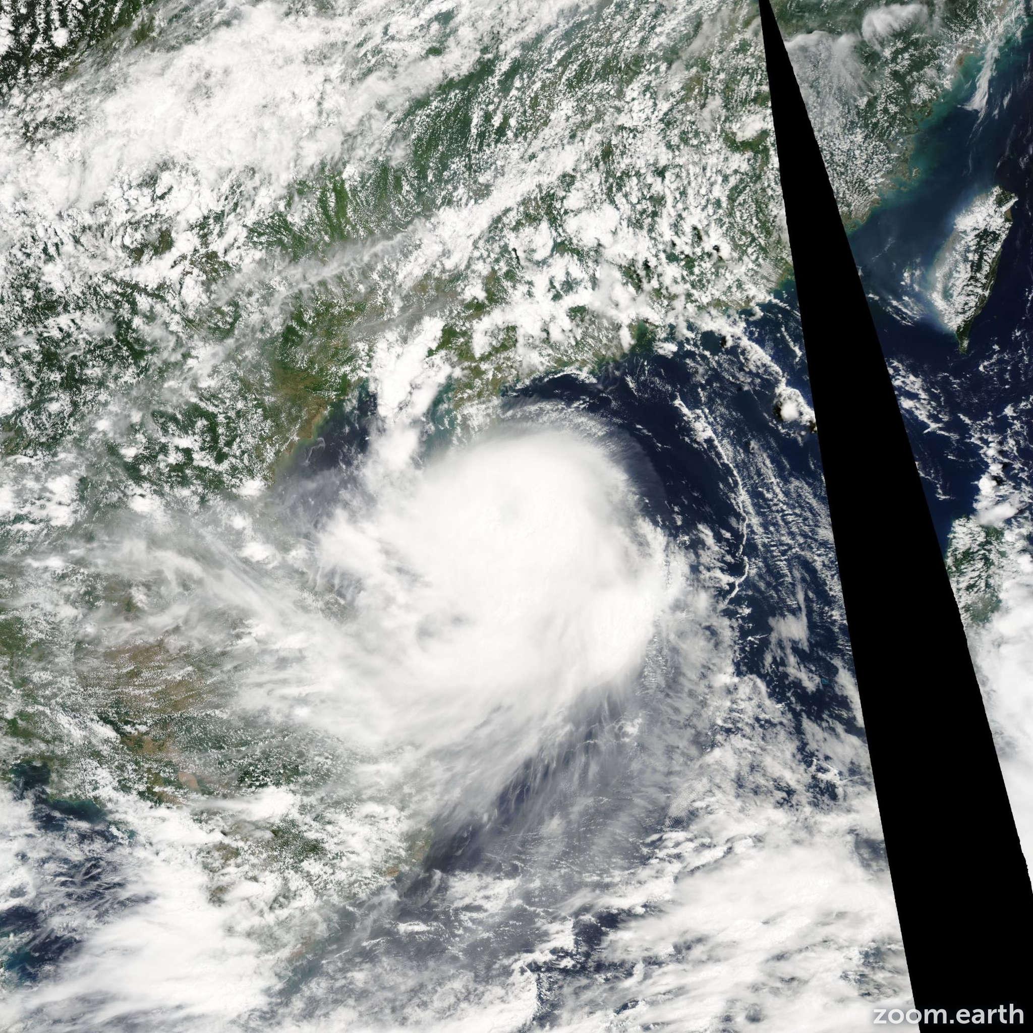 Satellite image of Storm Koni 2003