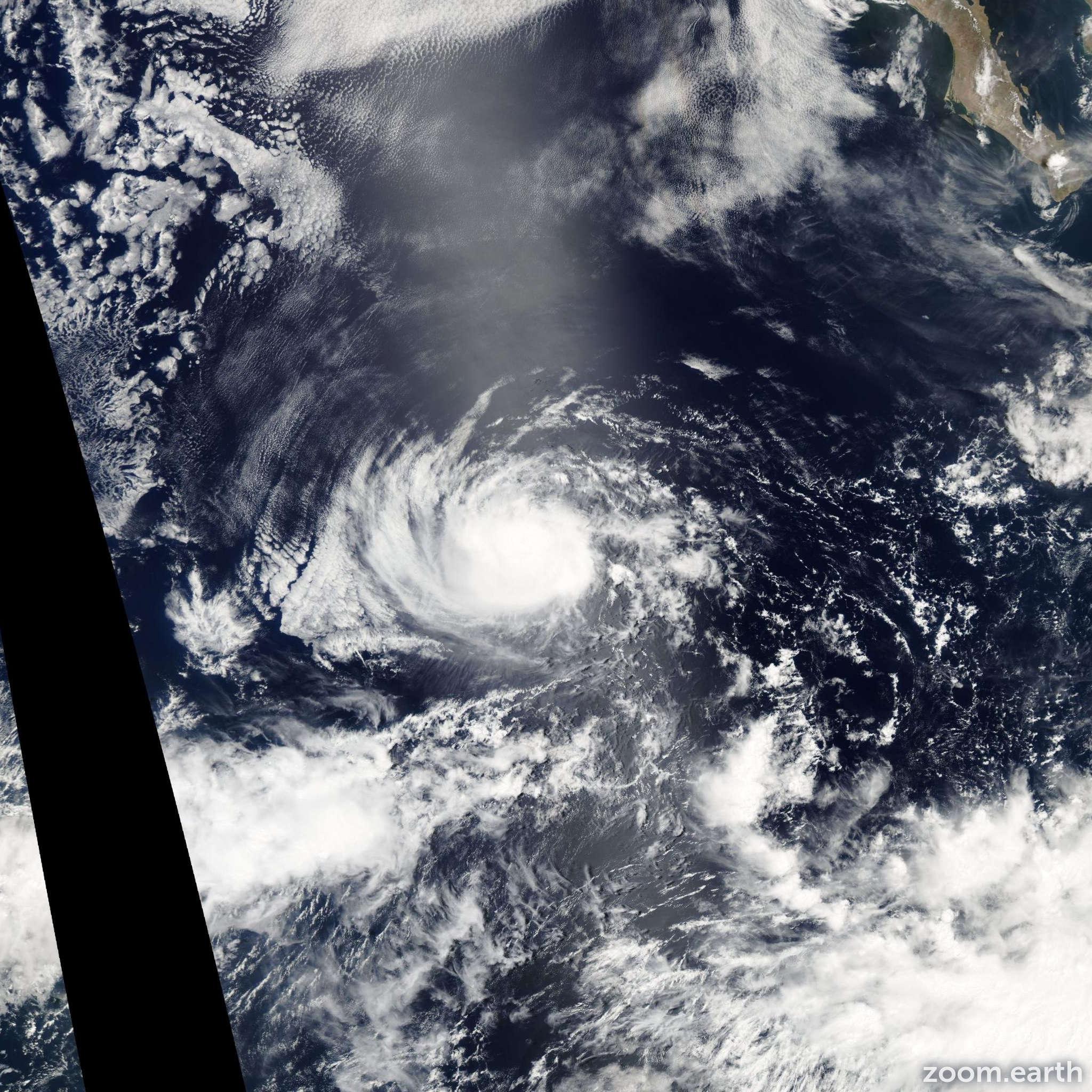 Satellite image of Hurricane Celia 2004