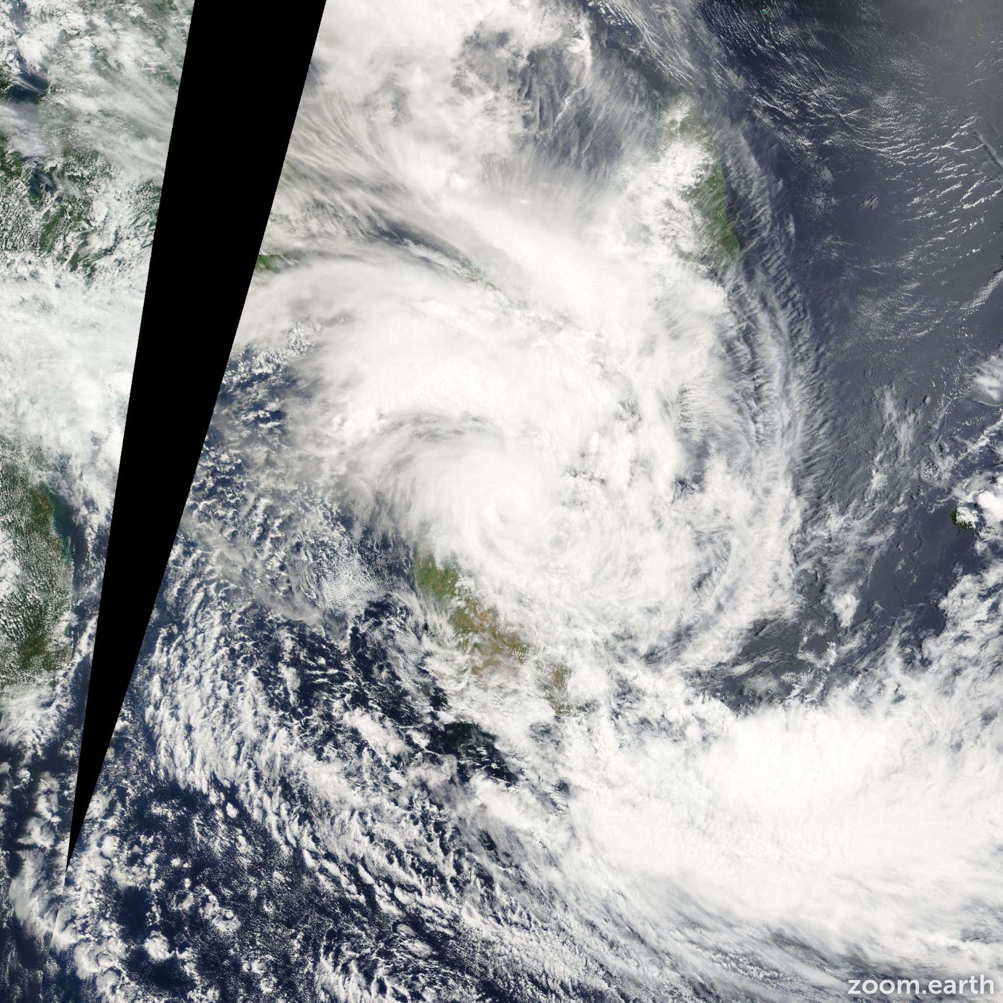 Satellite image of Storm Elita 2004