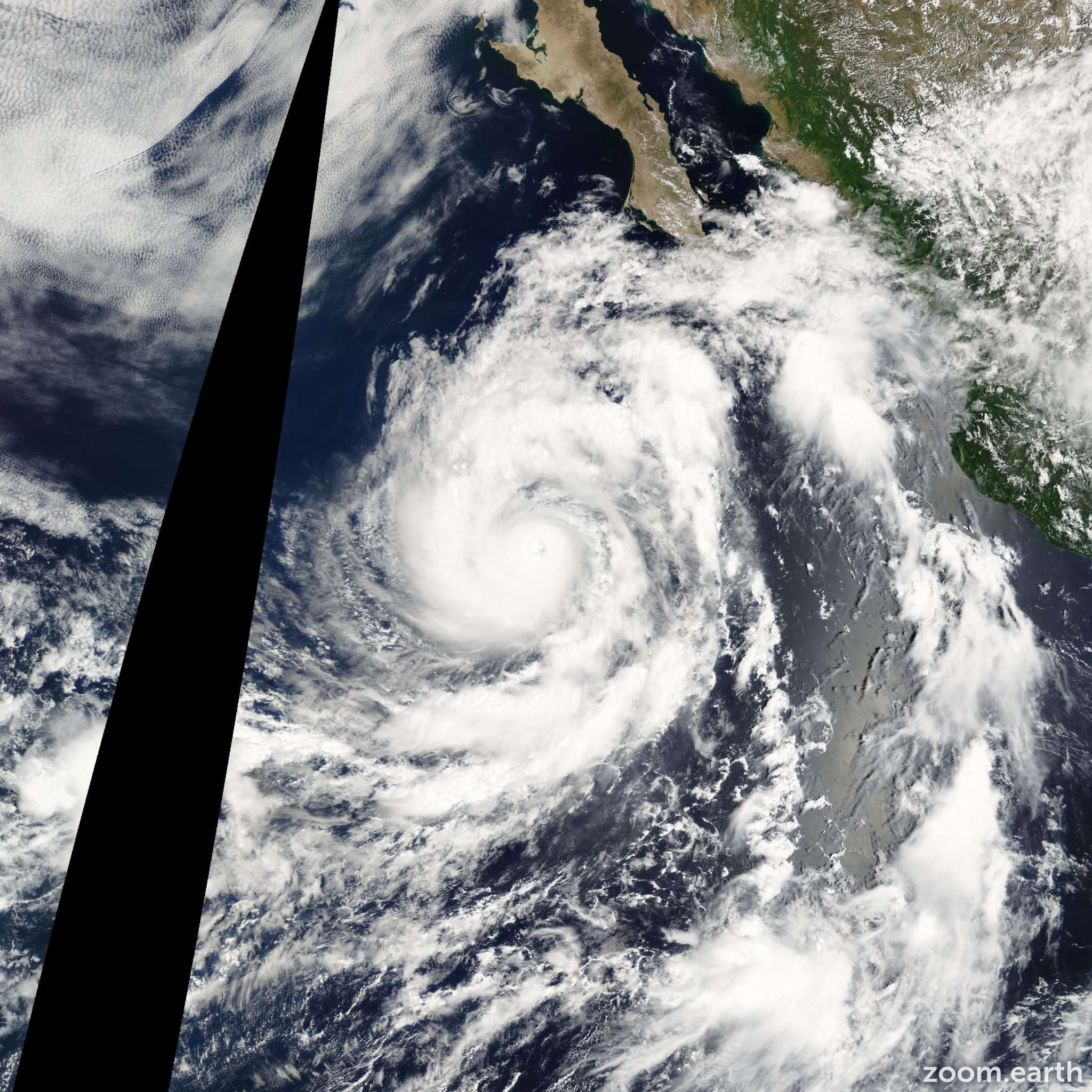 Satellite image of Hurricane Howard 2004