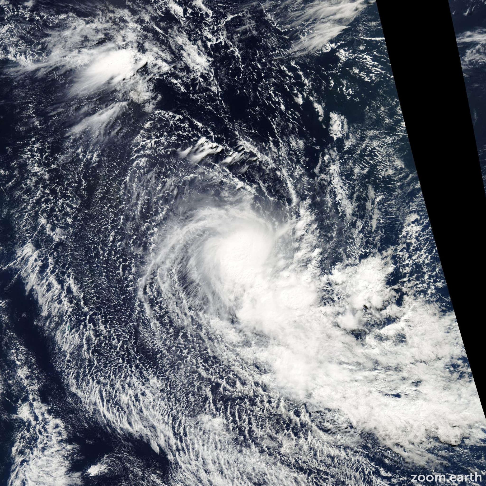 Satellite image of Storm Juba 2004
