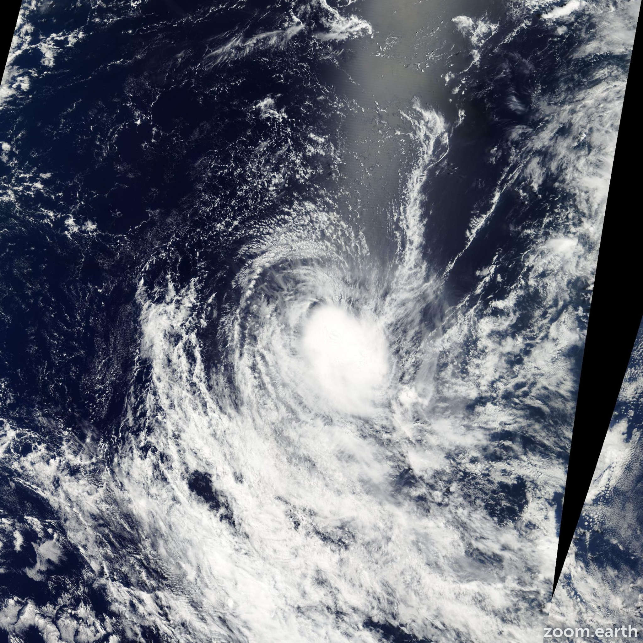 Satellite image of Storm Nicky-Helma 2004