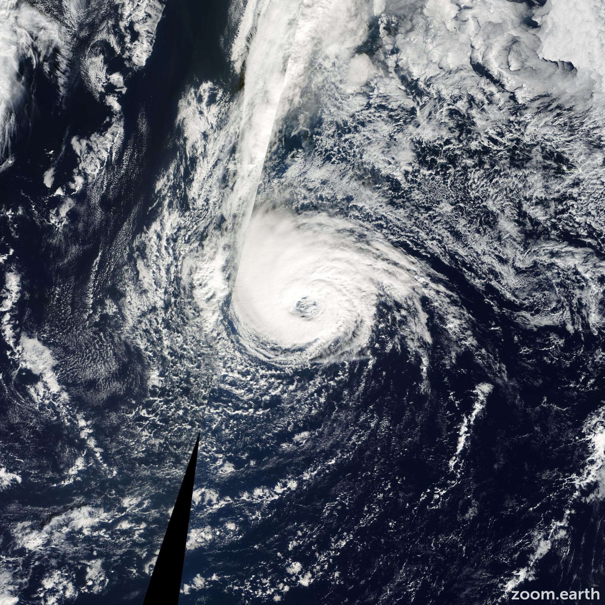 Satellite image of Hurricane Epsilon 2005
