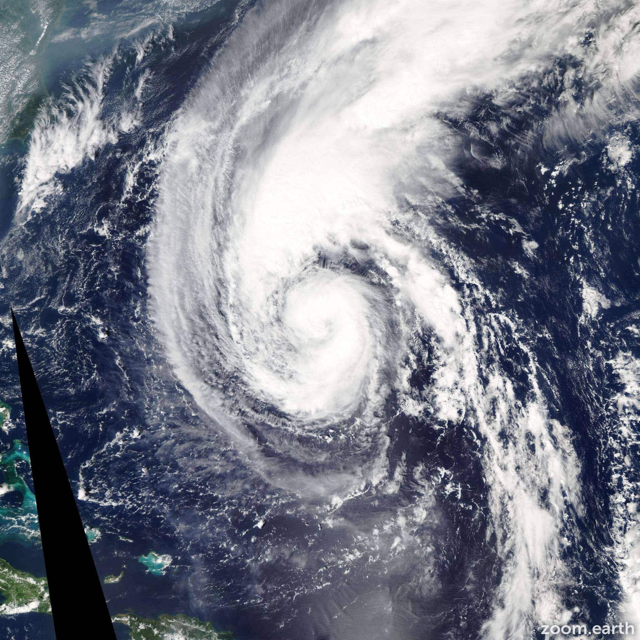 Satellite image of Hurricane Florence 2006