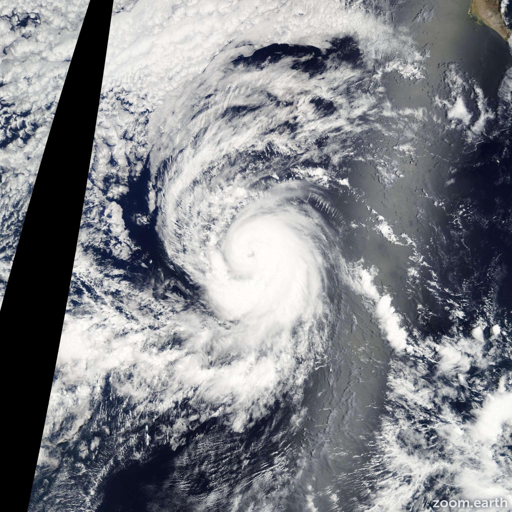 Satellite image of Hurricane Hector 2006