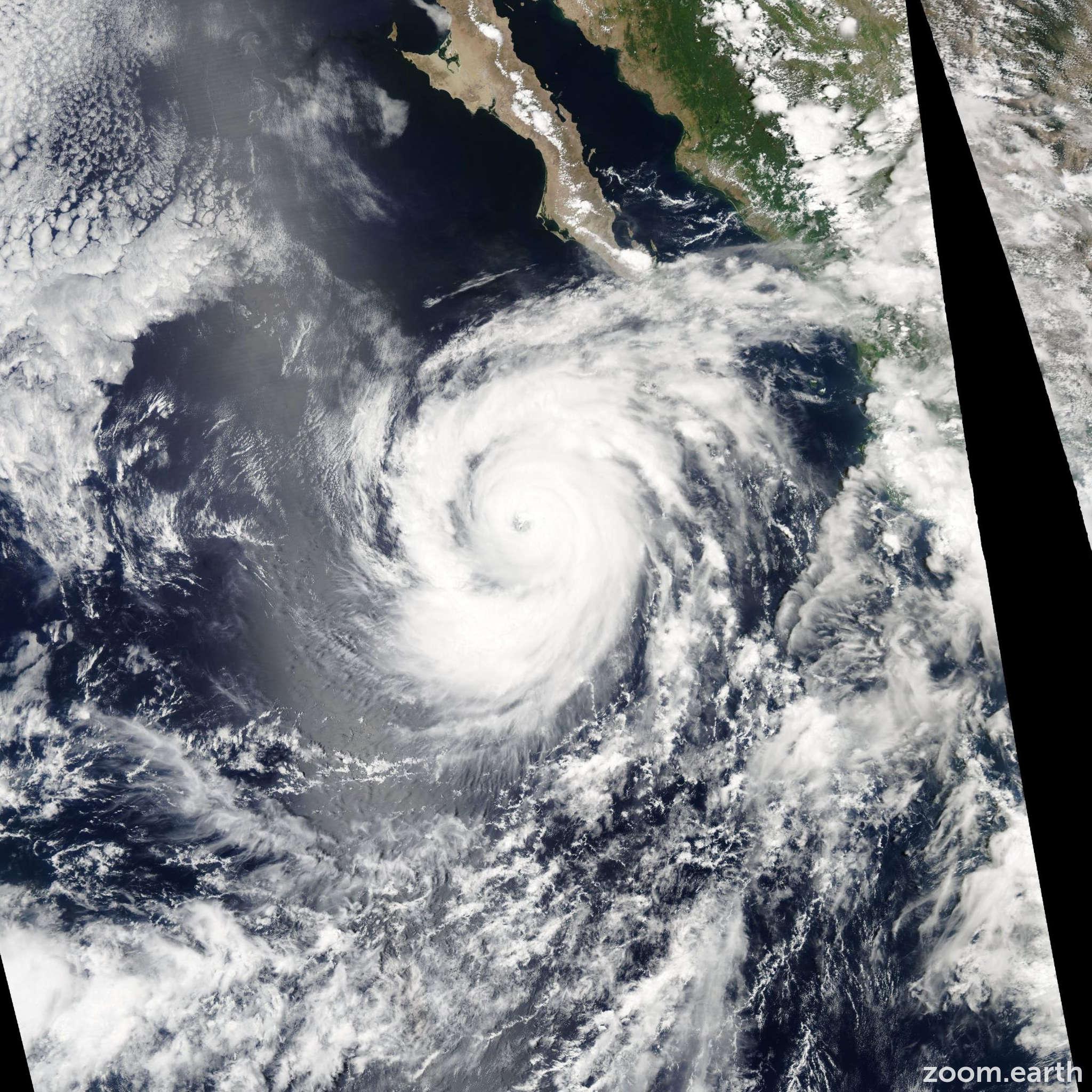Satellite image of Hurricane Ileana 2006