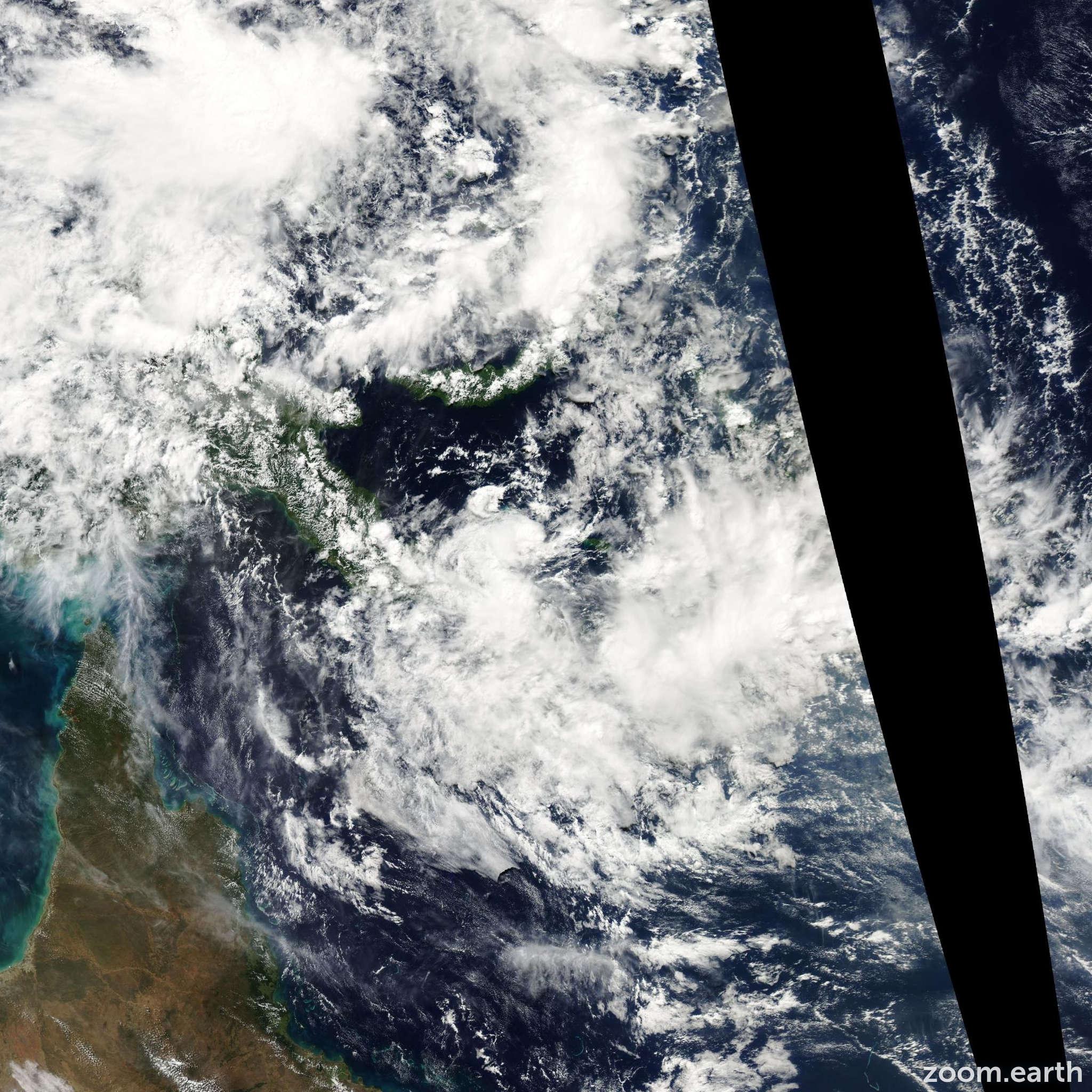 Satellite image of Depression Pierre 2007