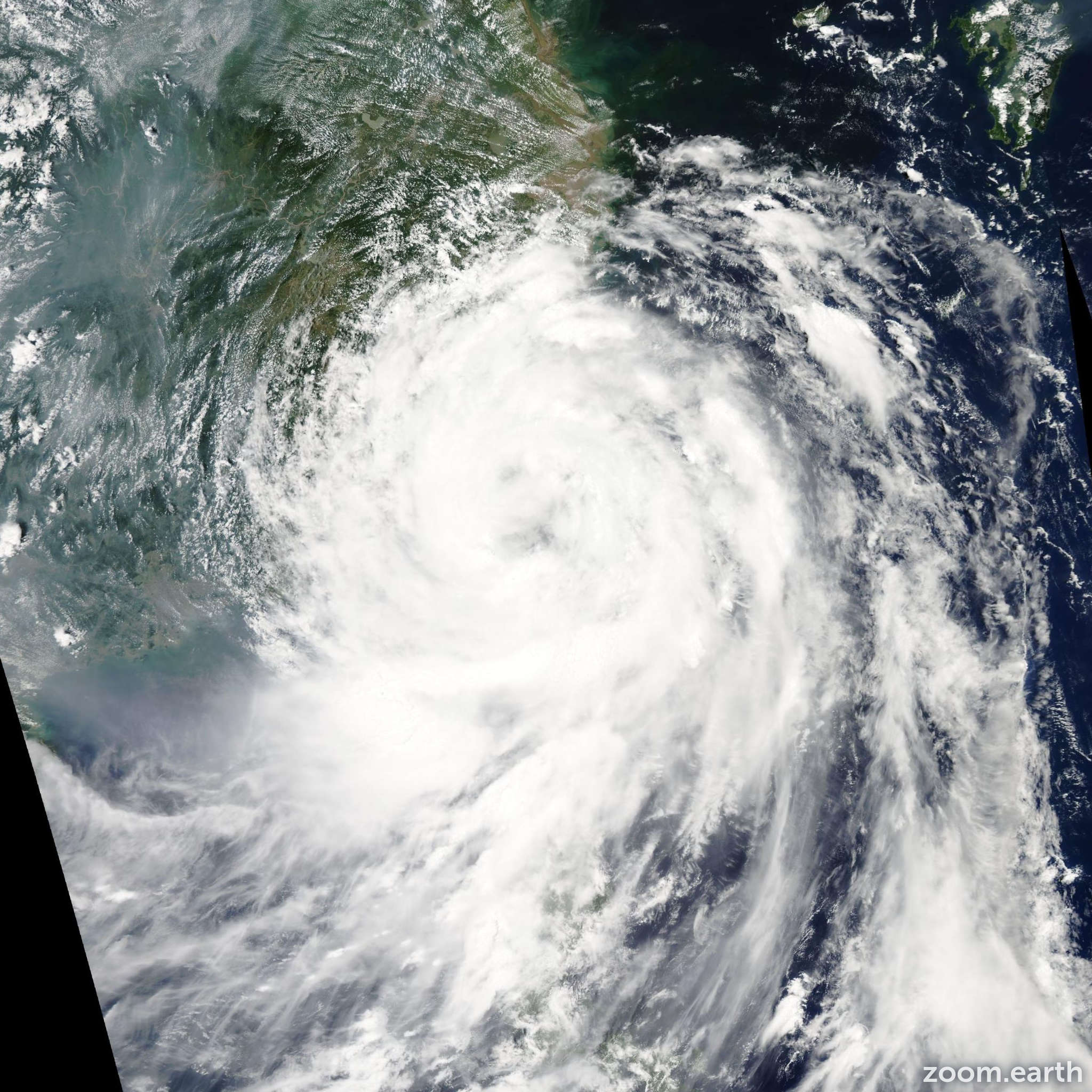Satellite image of Typhoon Fung-Wong 2008