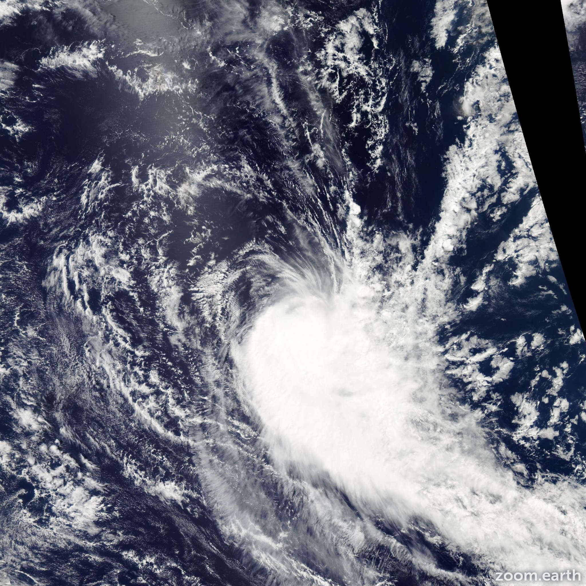 Satellite image of Cyclone Kamba 2008