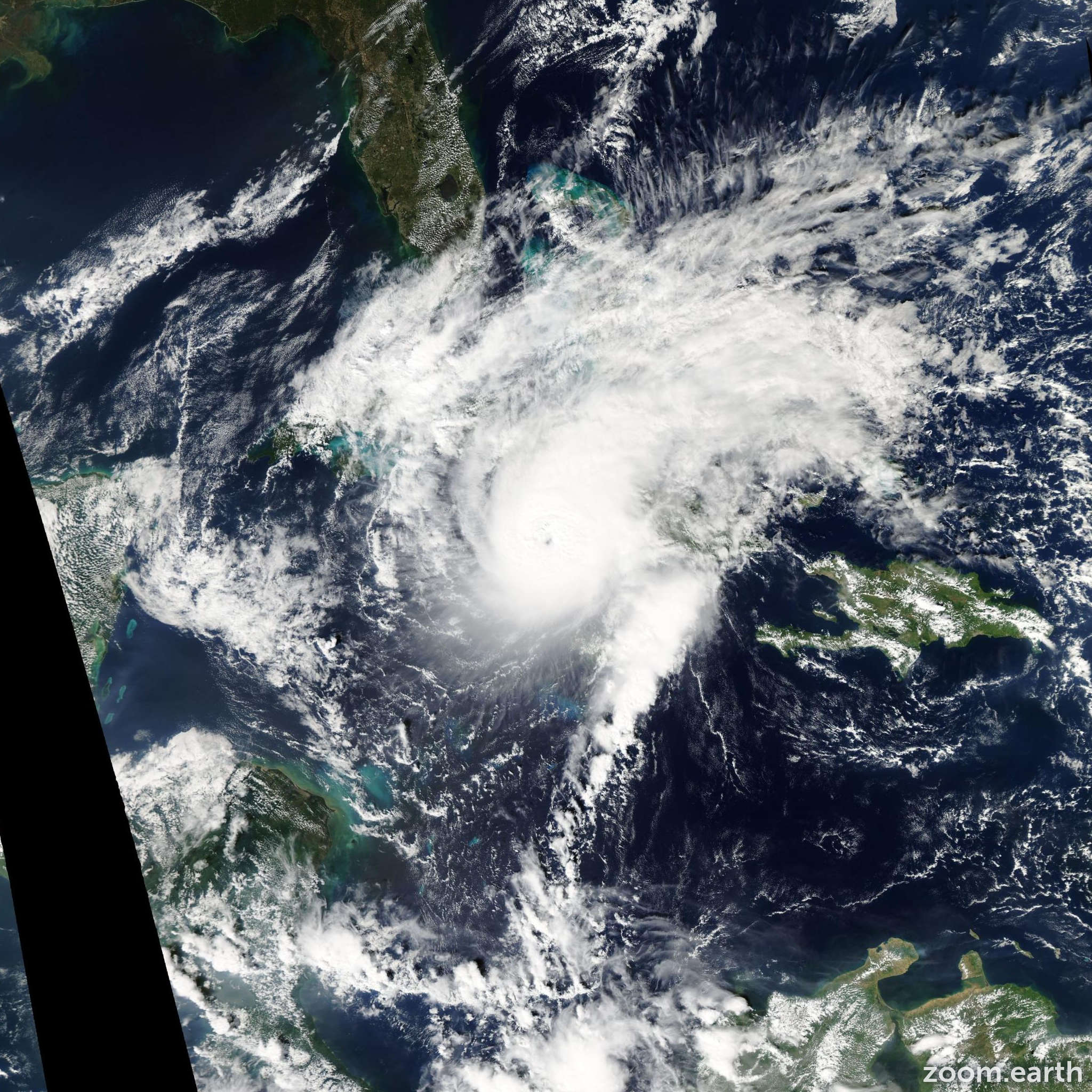 Satellite image of Hurricane Paloma 2008