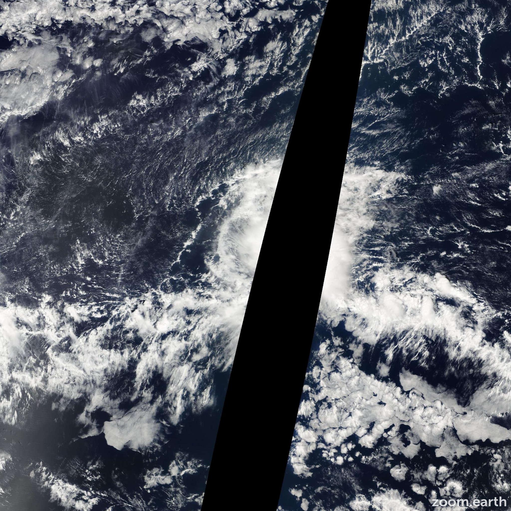 Satellite image of Storm Polo 2008