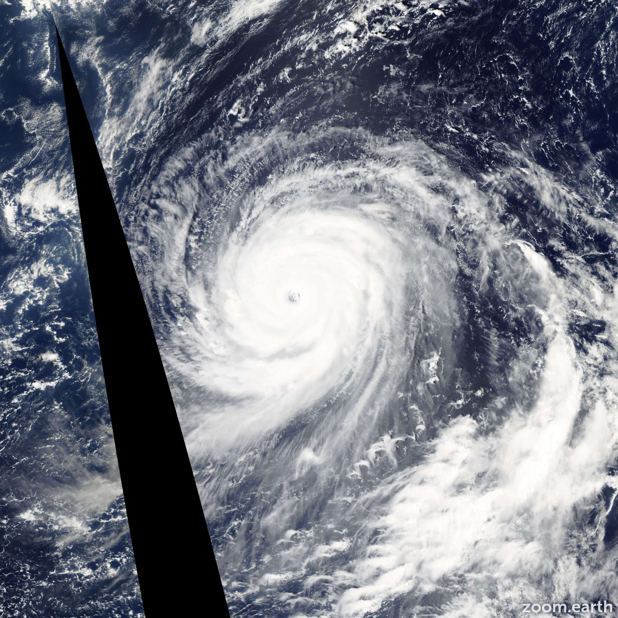 Satellite image of Typhoon Choi-Wan 2009