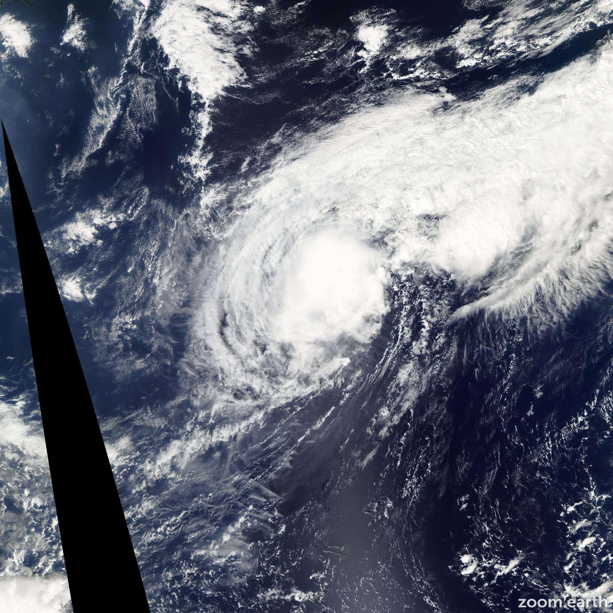 Satellite image of Storm Nepartak 2009