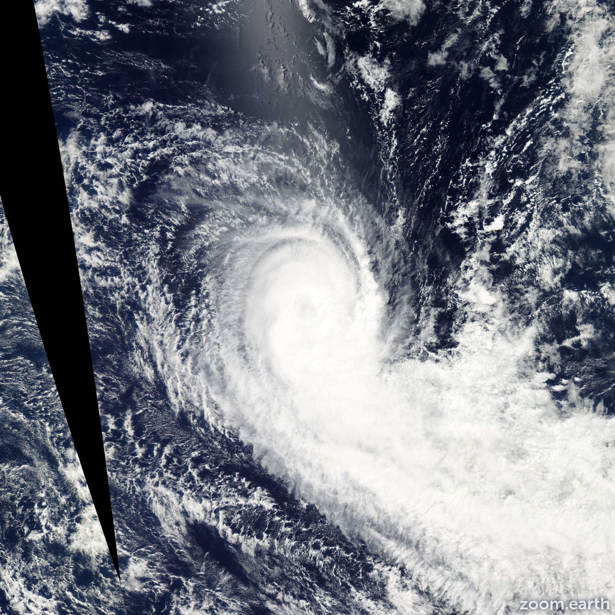 Satellite image of Cyclone Imani 2010