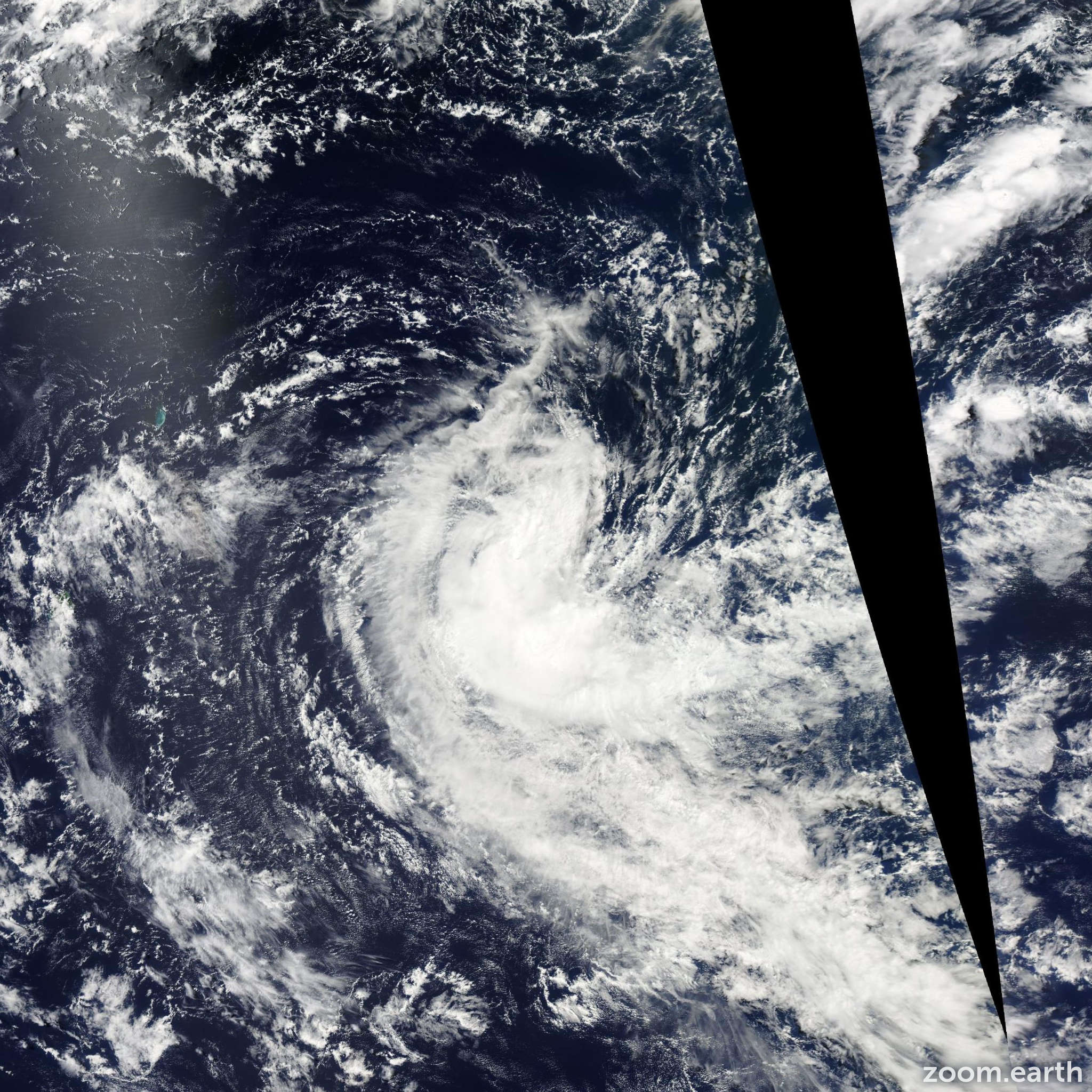 Satellite image of Storm Cherono 2011