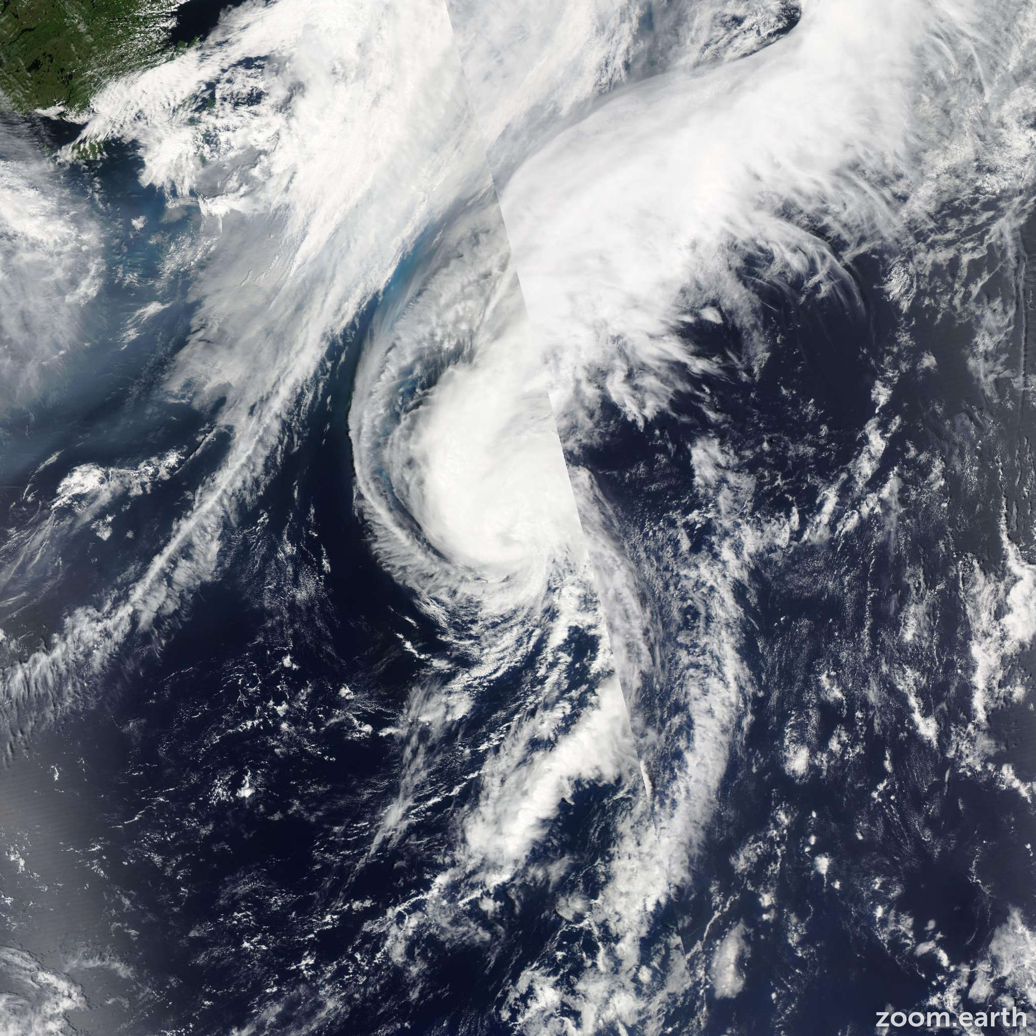Satellite image of Storm Cindy 2011