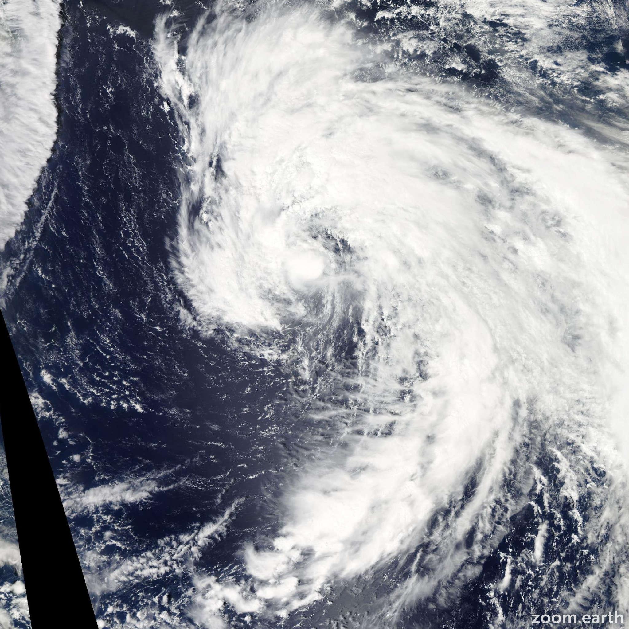 Satellite image of Storm Noru 2011