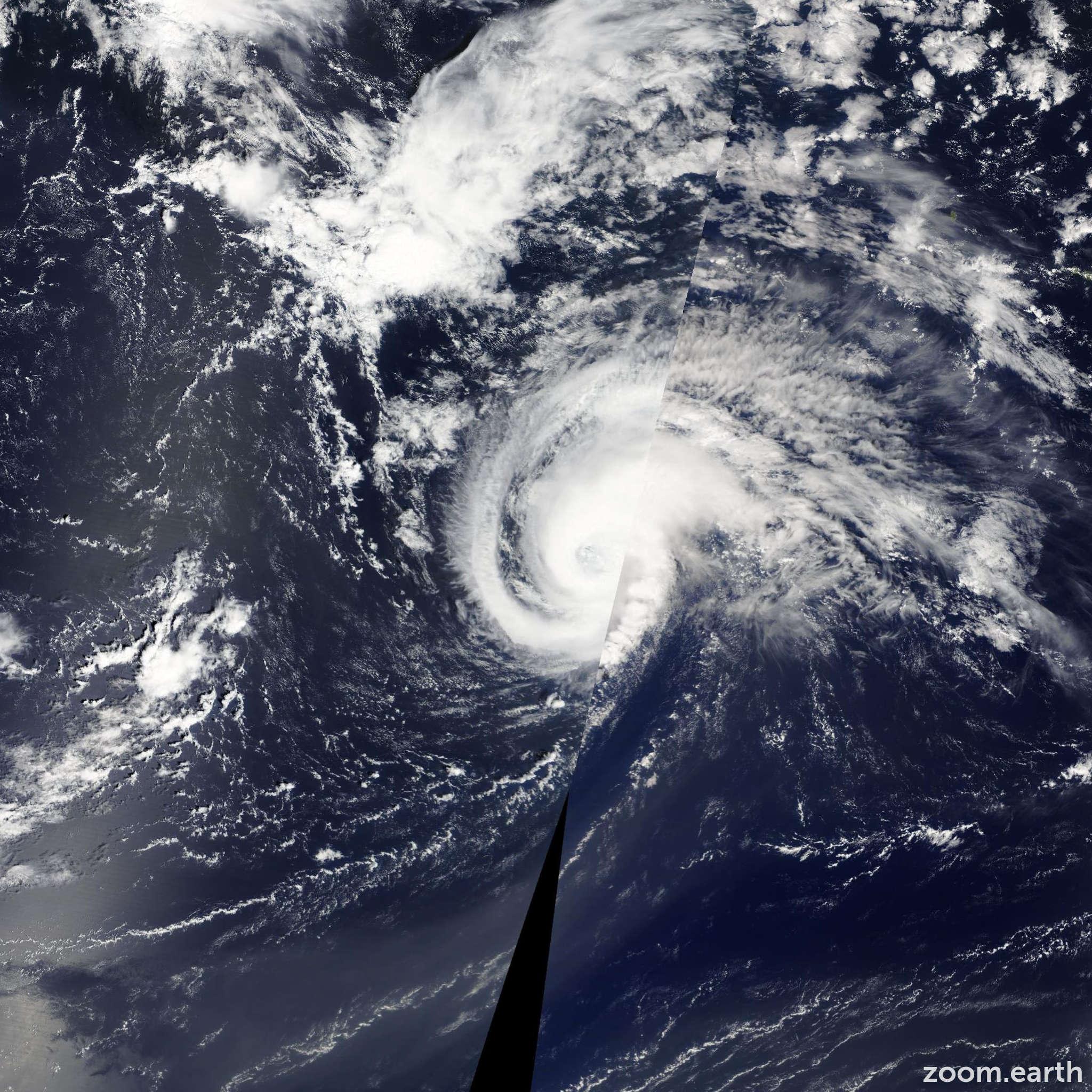 Satellite image of Hurricane Gordon 2012