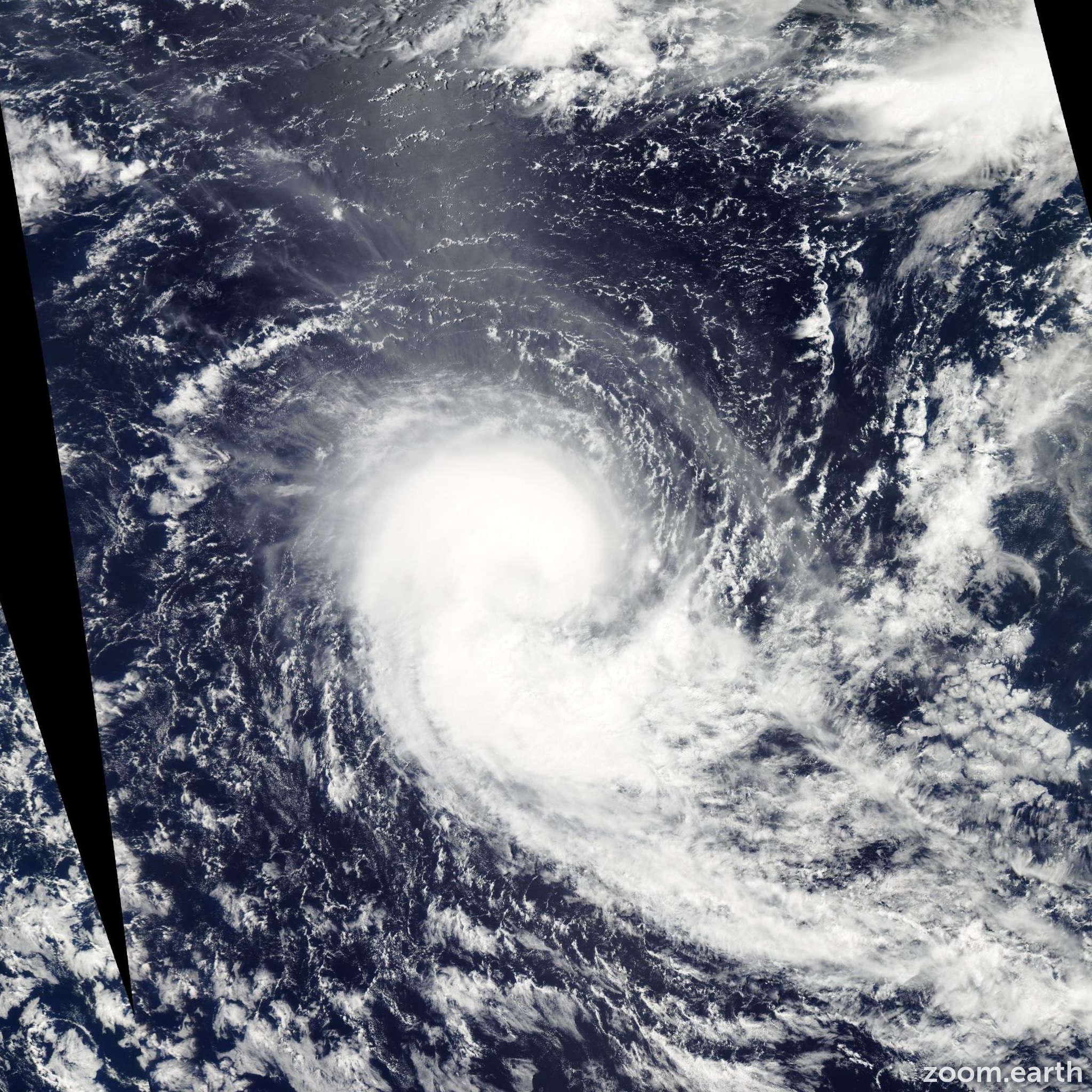 Satellite image of Cyclone Koji-Joni 2012