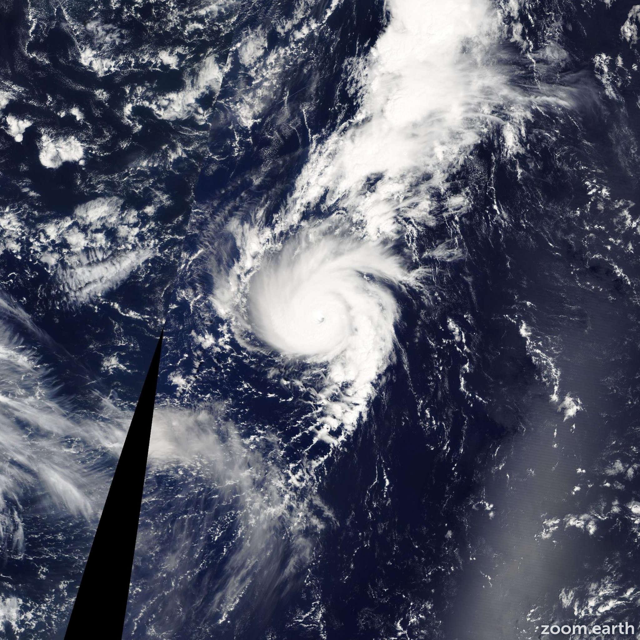 Satellite image of Hurricane Michael 2012