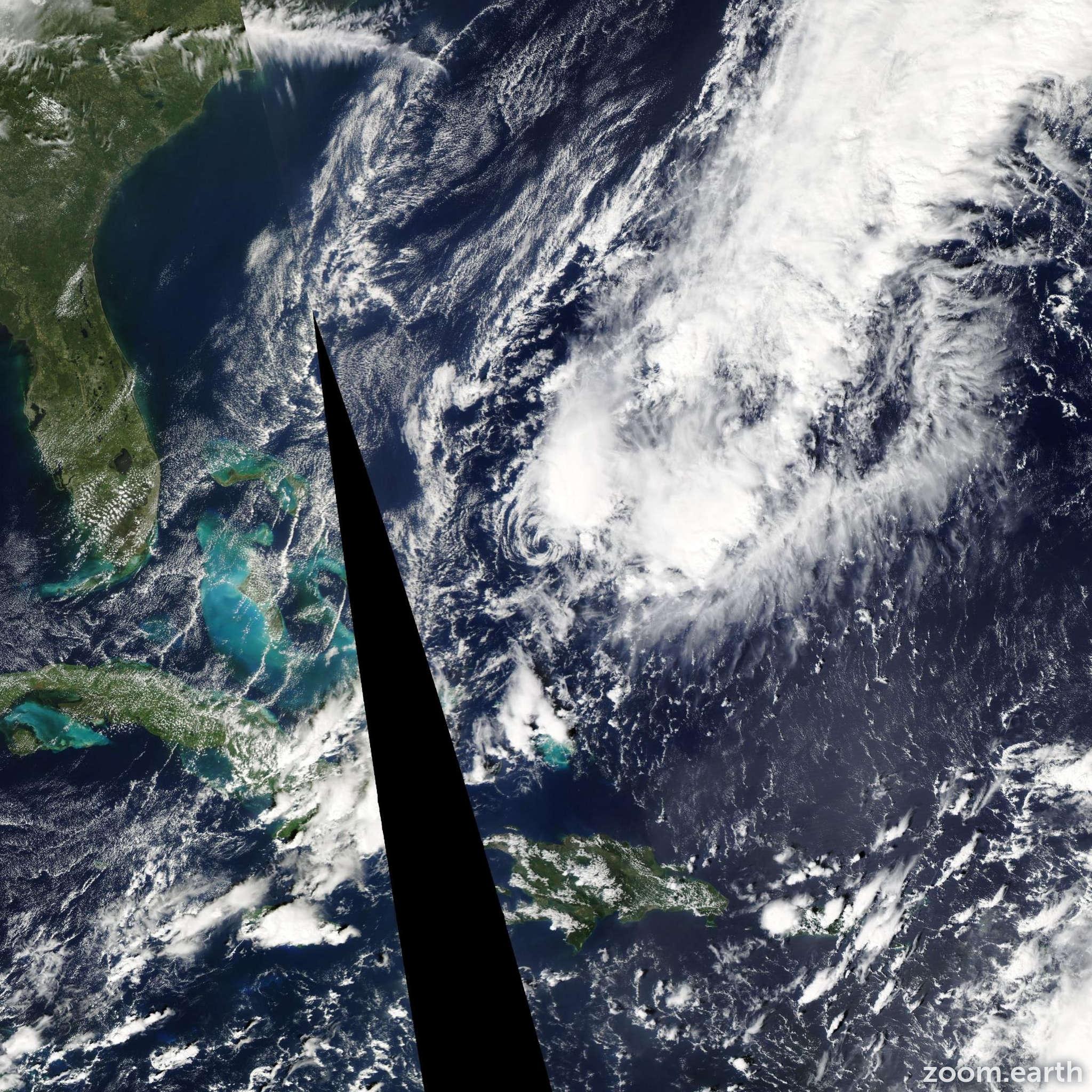 Satellite image of Storm Patty 2012