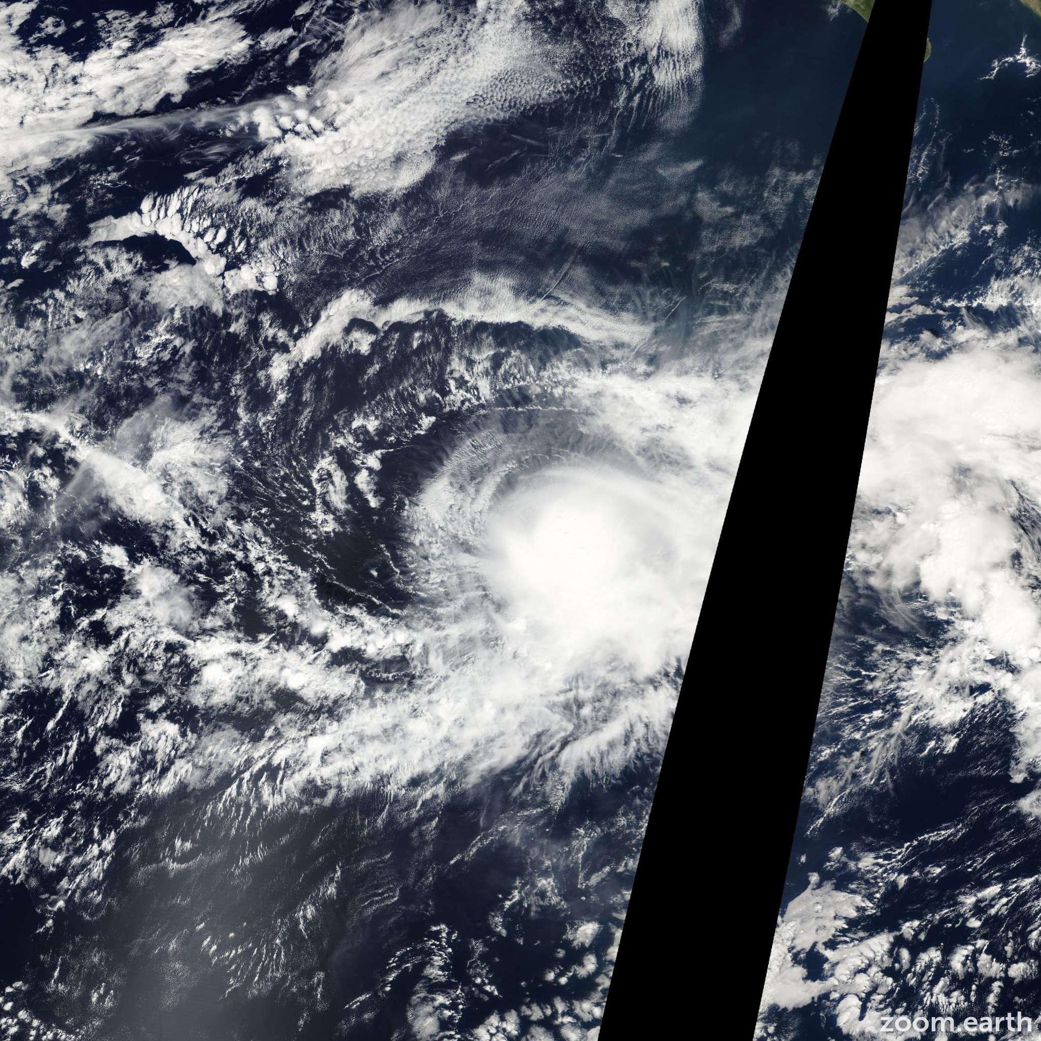 Satellite image of Storm Rosa 2012