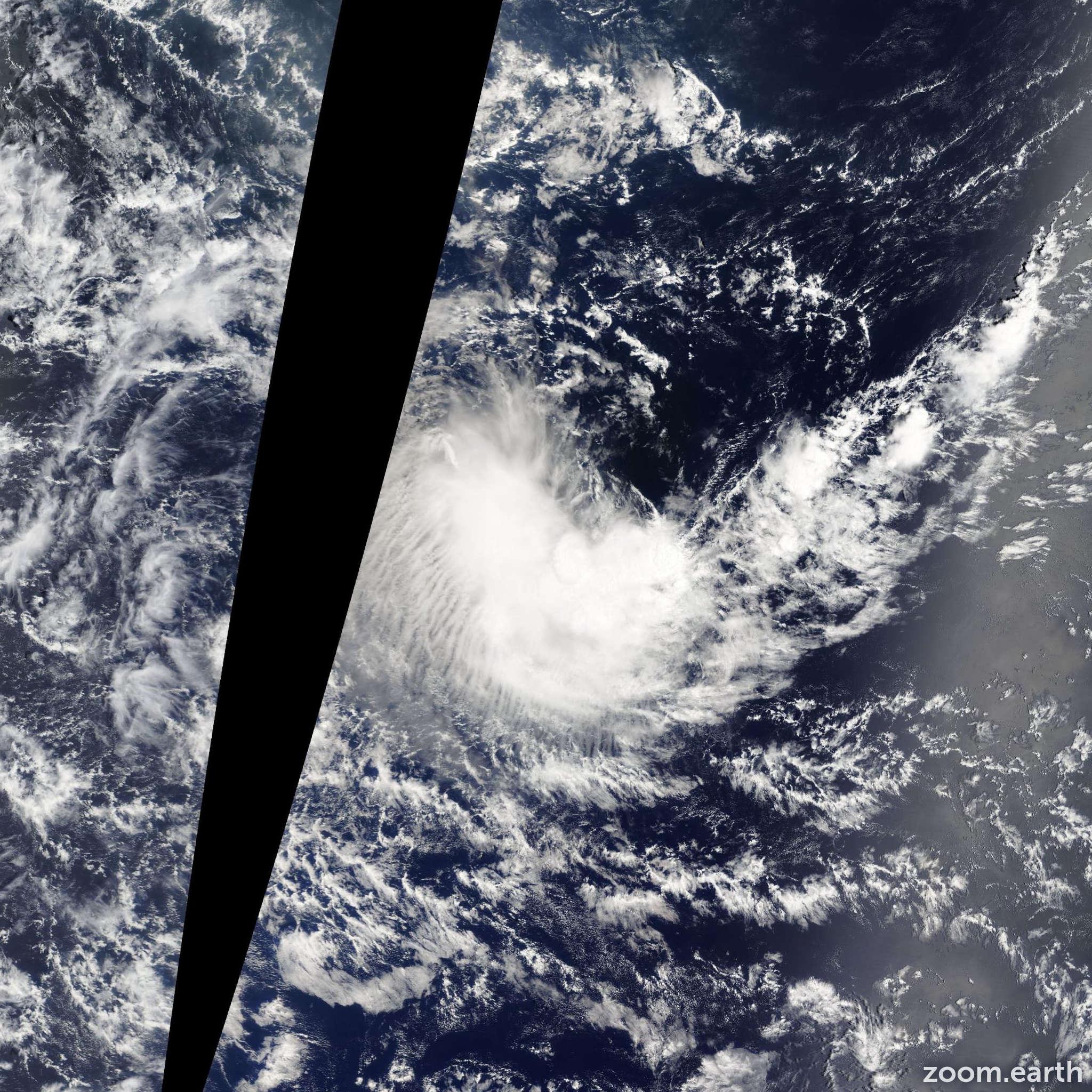 Satellite image of Depression Emang 2013