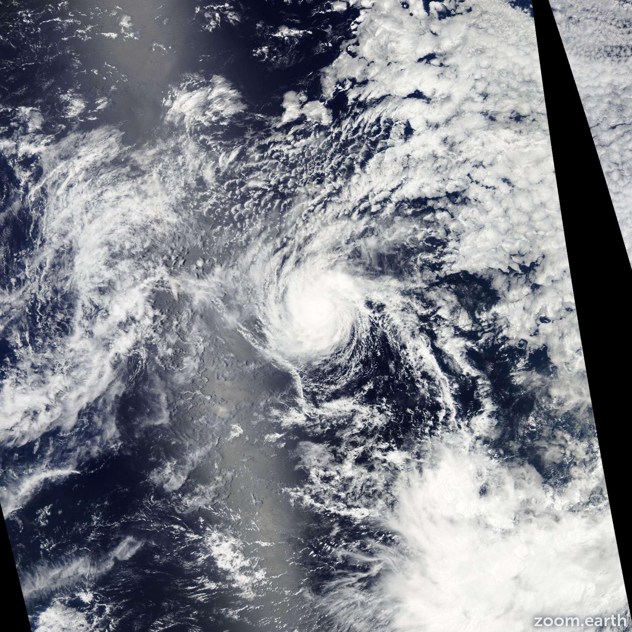 Satellite image of Hurricane Henriette 2013