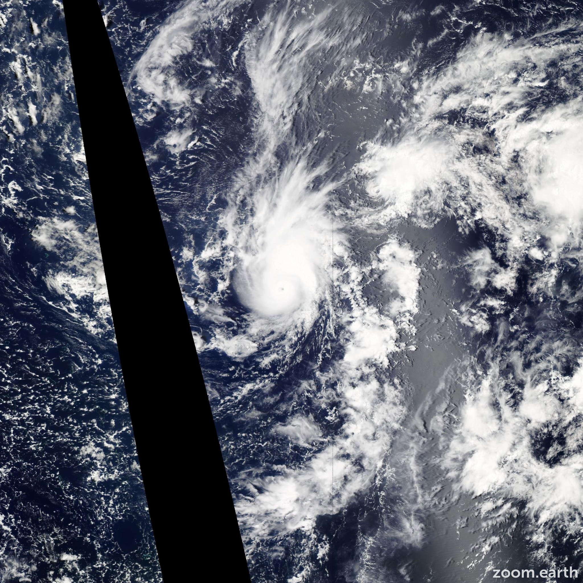 Satellite image of Storm Pewa 2013