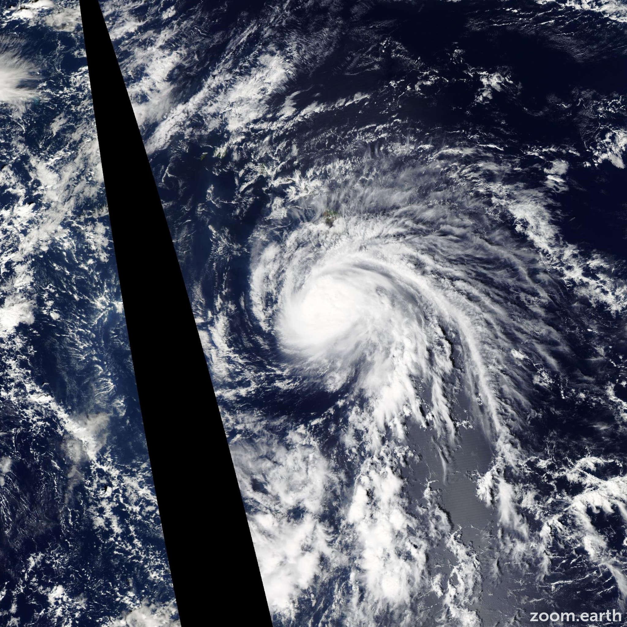 Satellite image of Hurricane Ana 2014