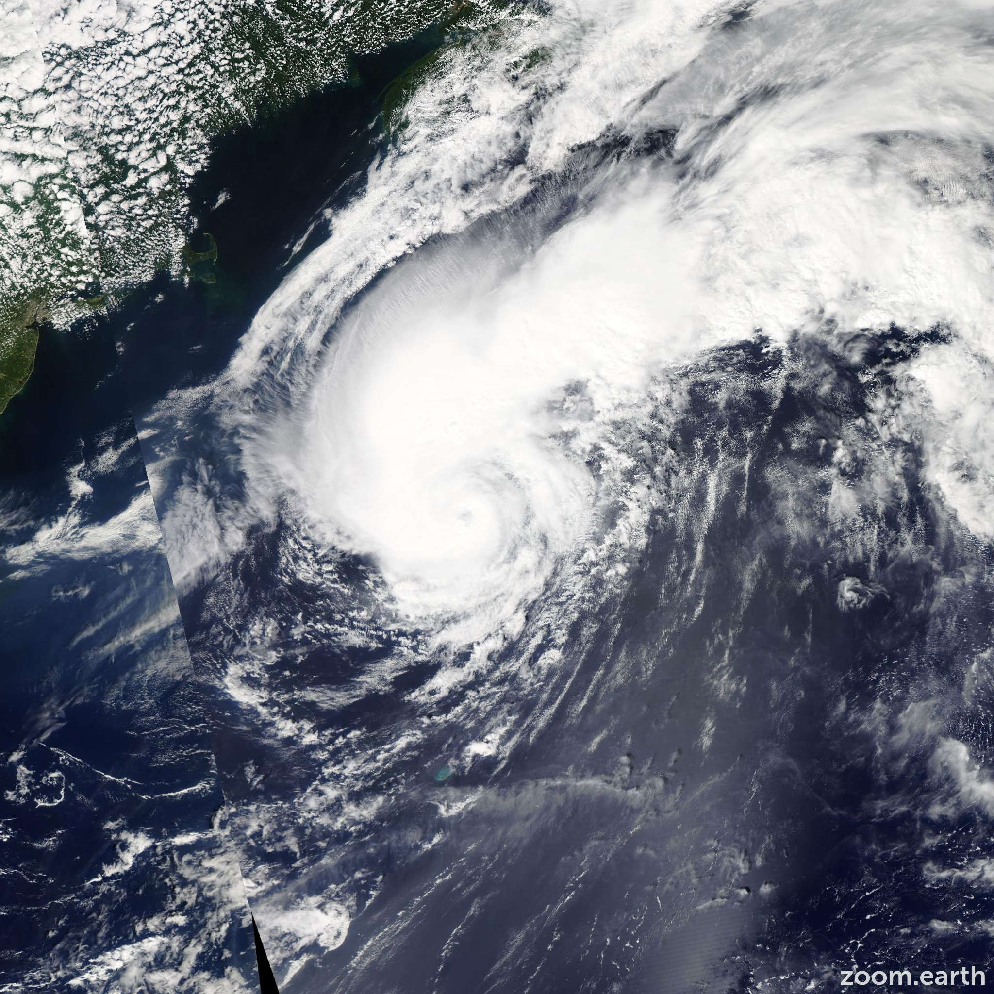 Satellite image of Hurricane Cristobal 2014