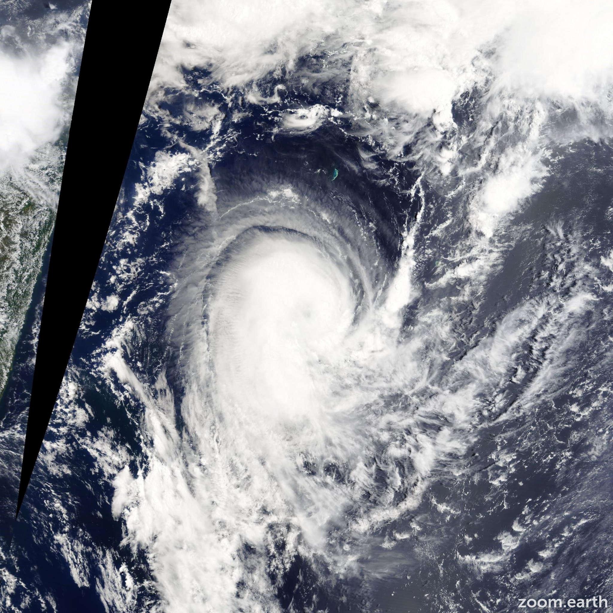 Satellite image of Storm Edilson 2014