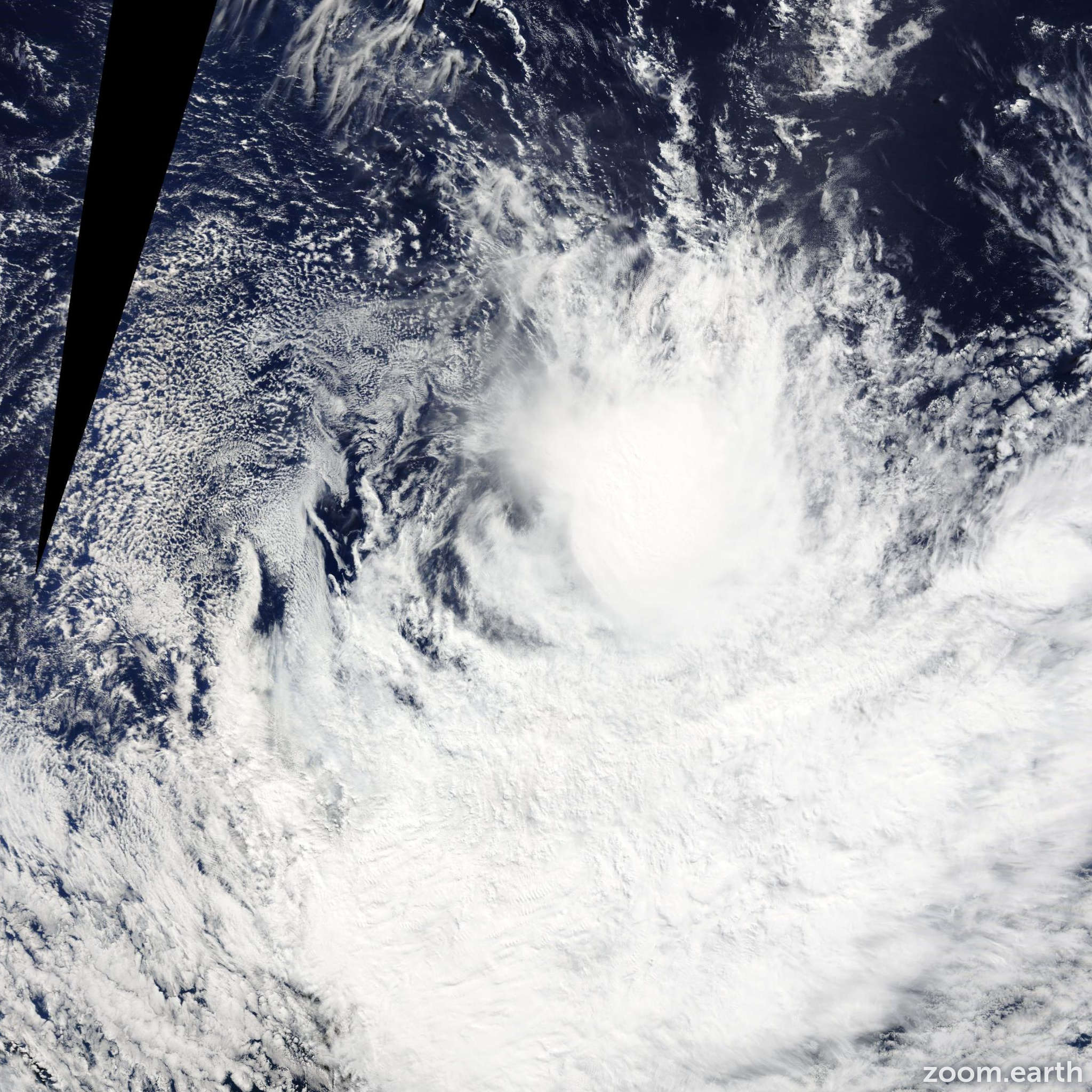 Satellite image of Storm Ivanoe 2014