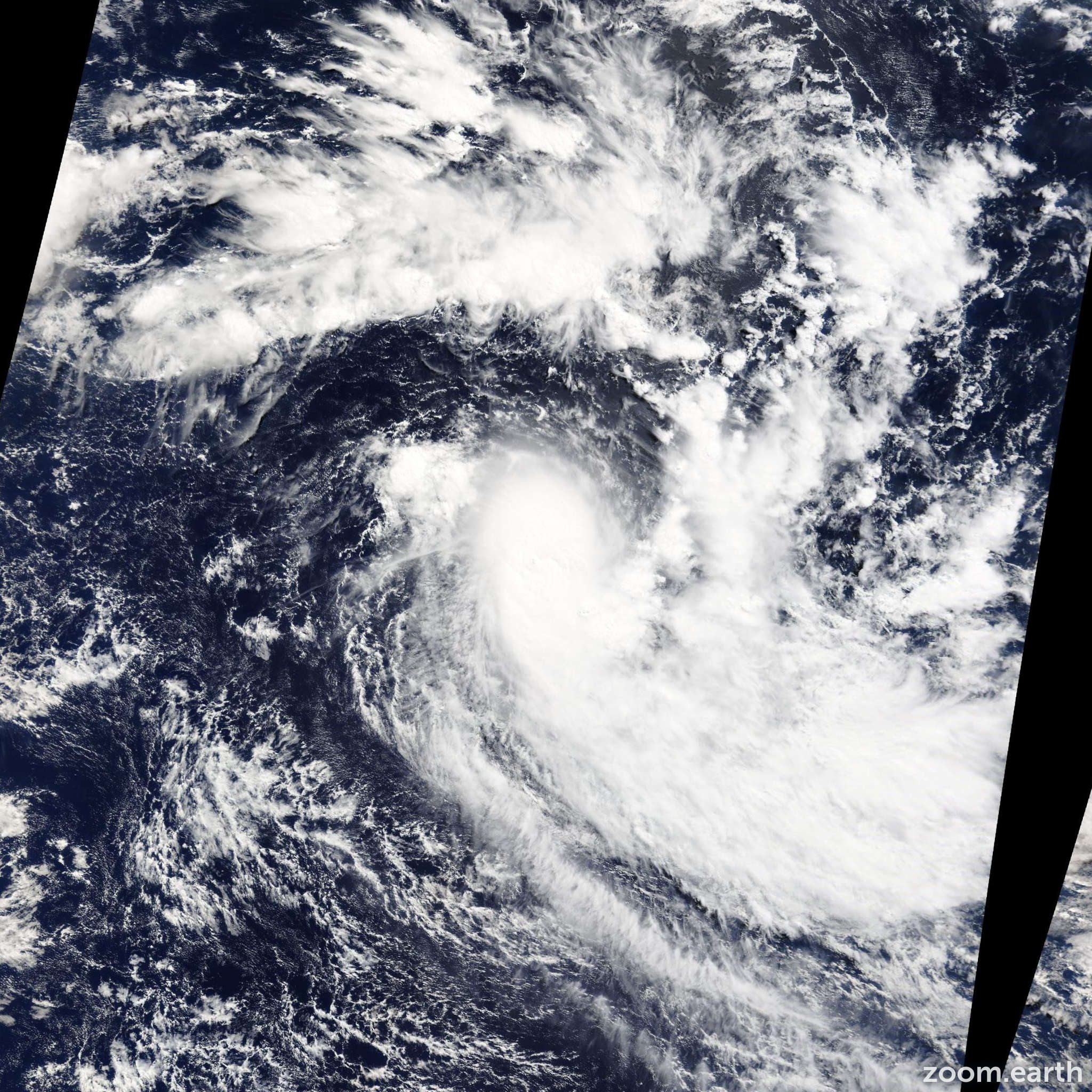 Satellite image of Cyclone Jack 2014