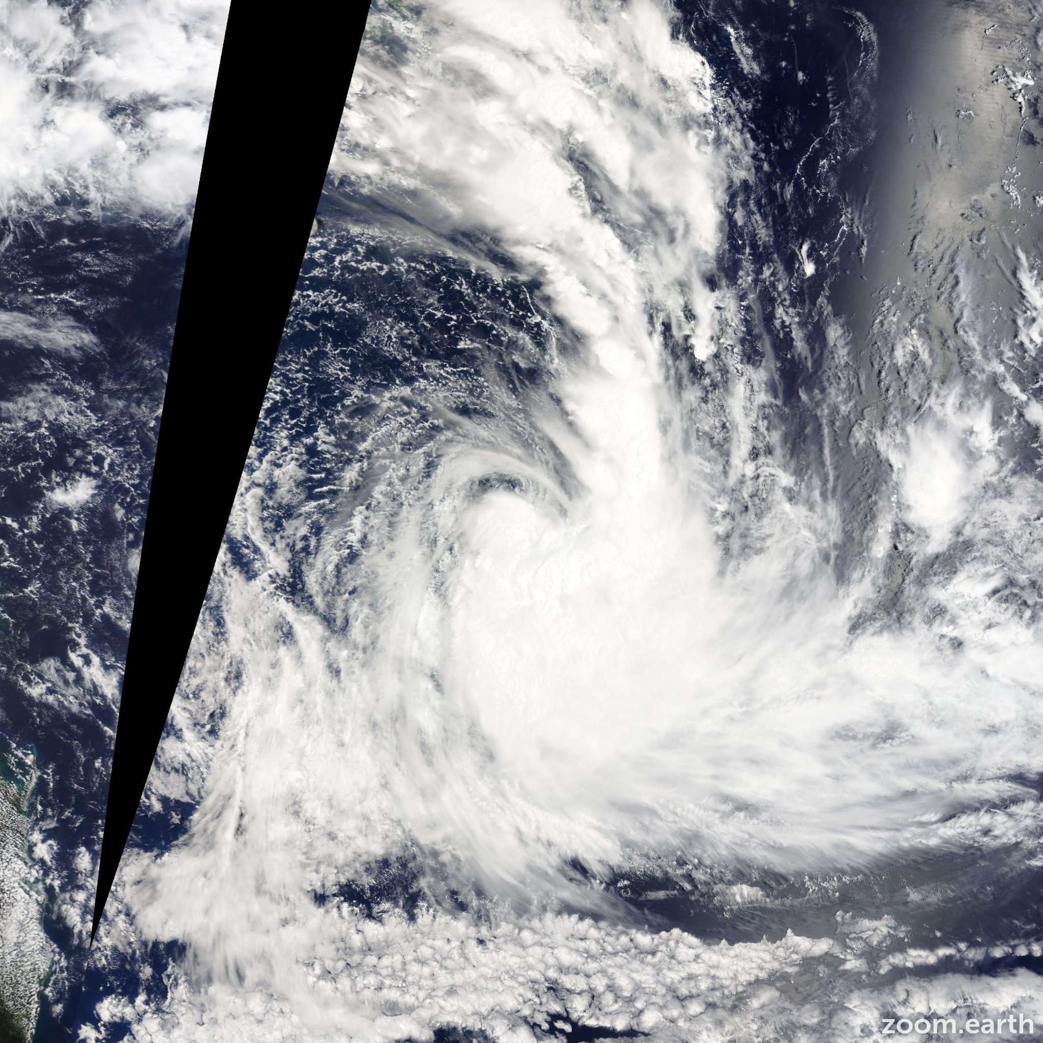 Satellite image of Cyclone June 2014