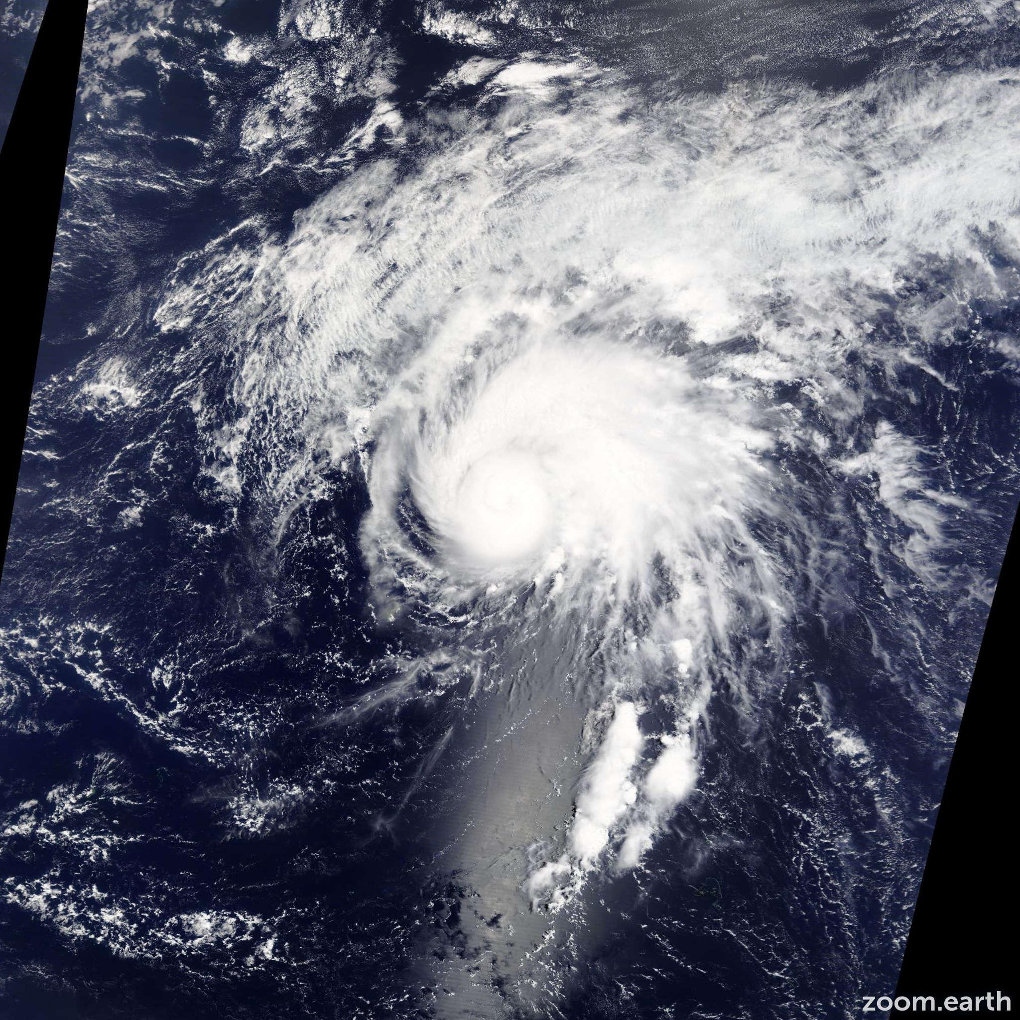 Satellite image of Storm Tapah 2014