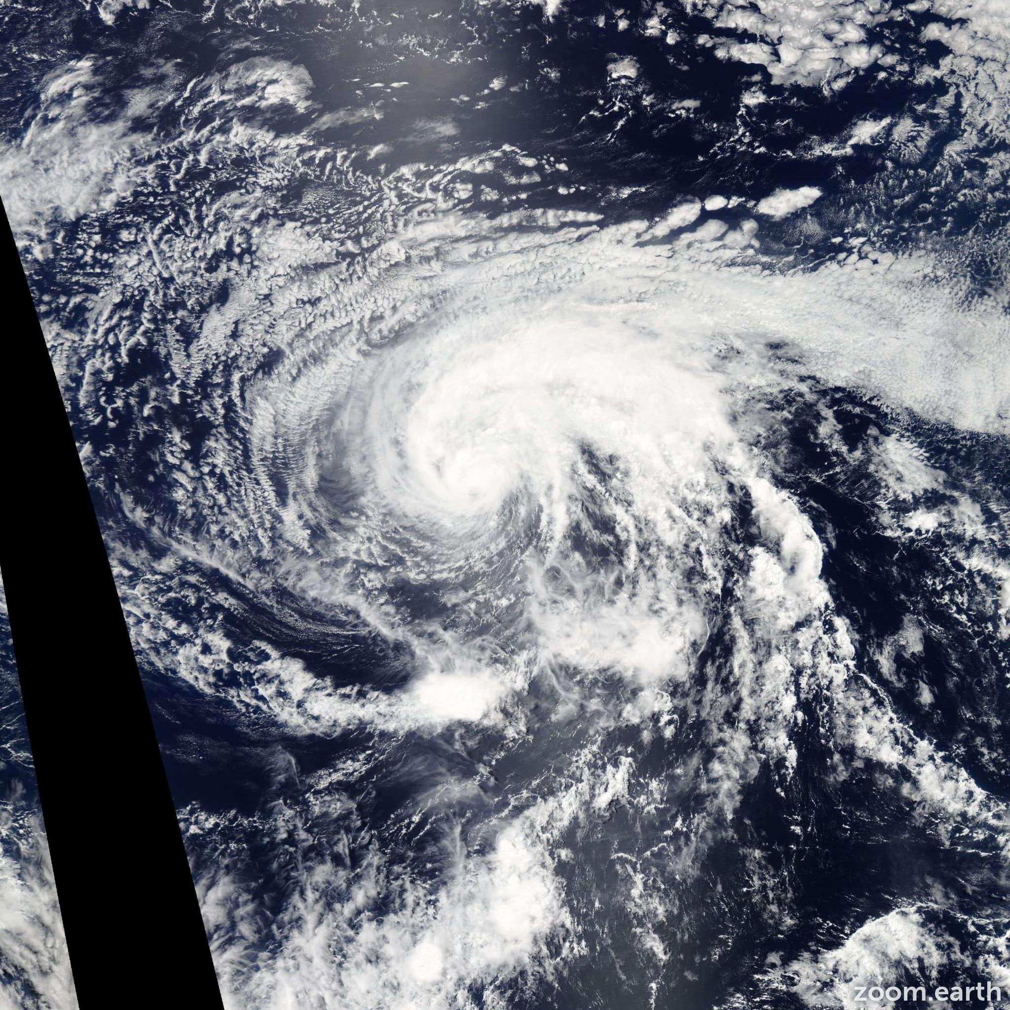 Satellite image of Storm Enrique 2015