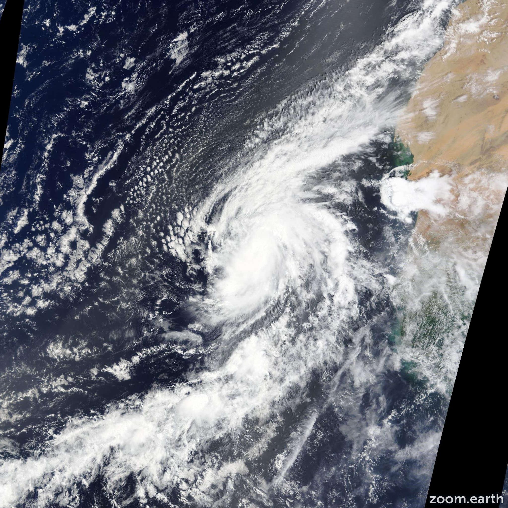 Satellite image of Hurricane Fred 2015
