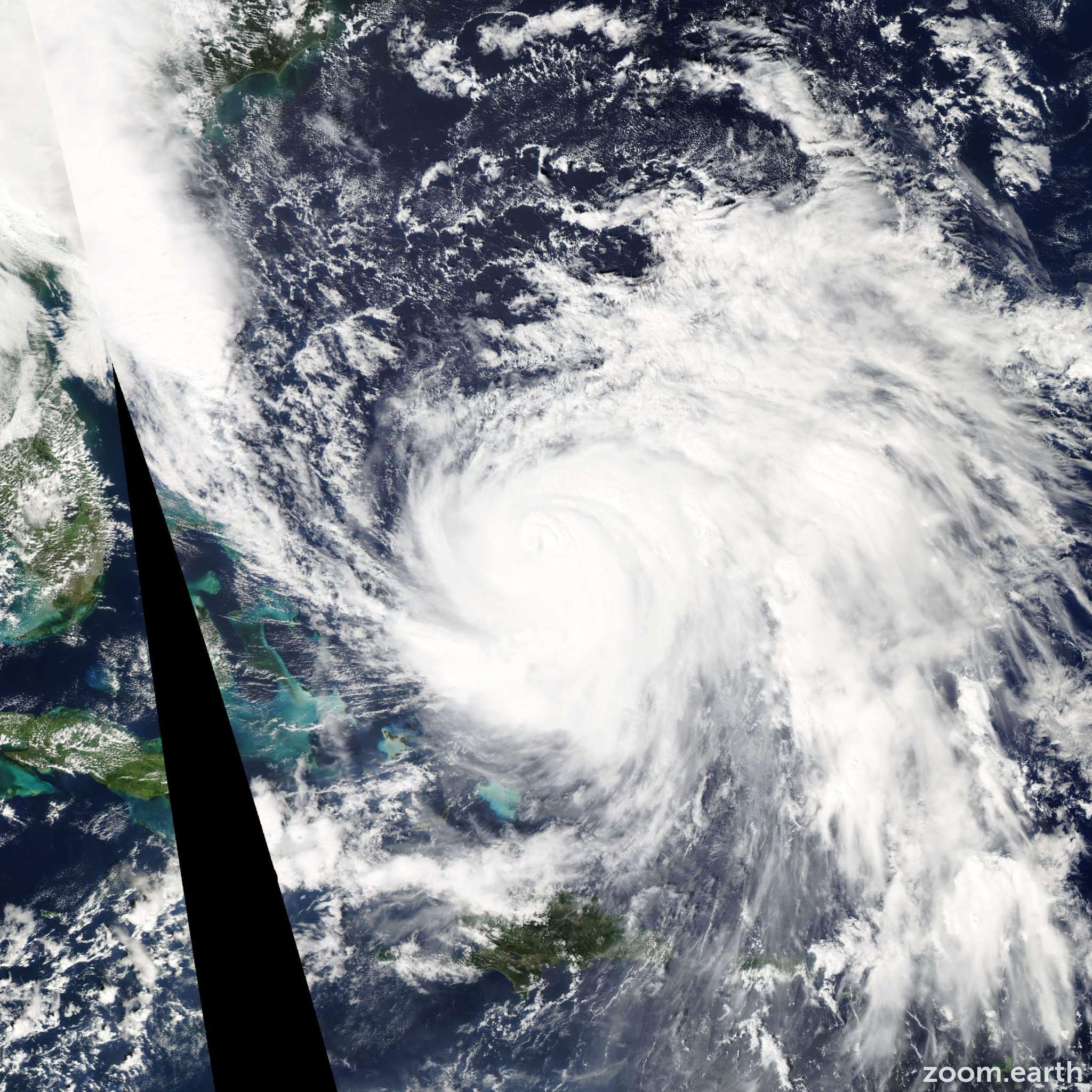 Satellite image of Hurricane Joaquin 2015
