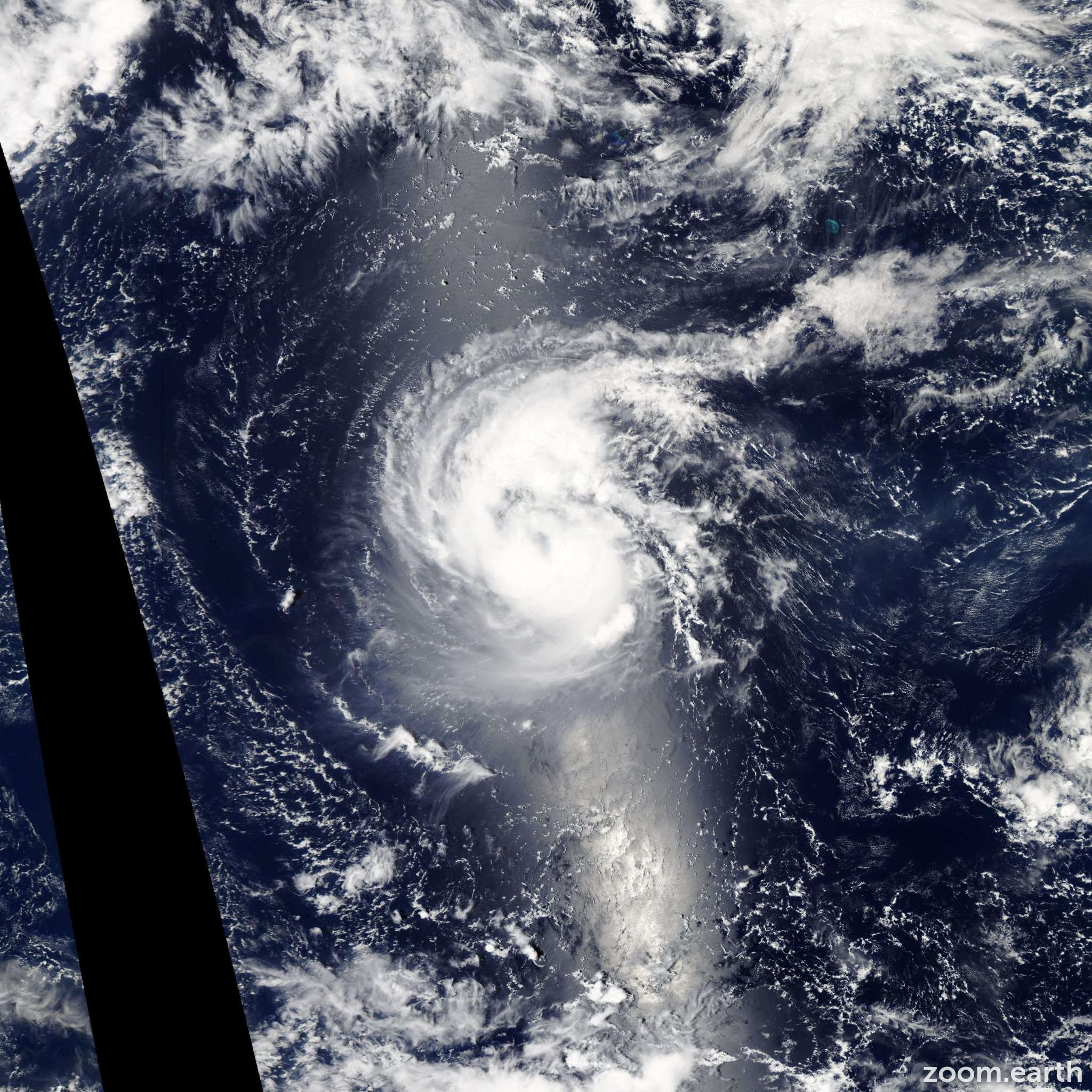 Satellite image of Hurricane Kilo 2015