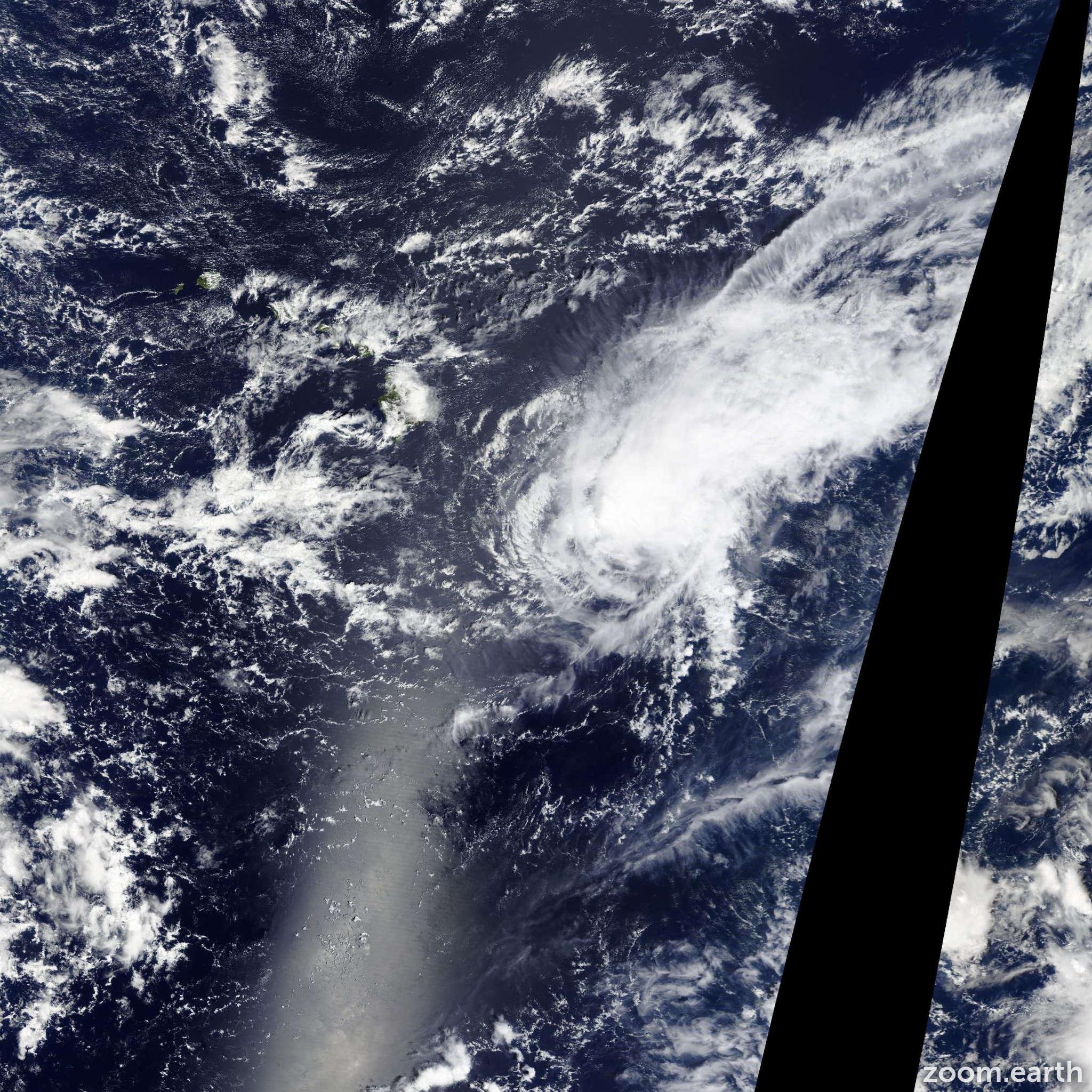 Satellite image of Storm Niala 2015