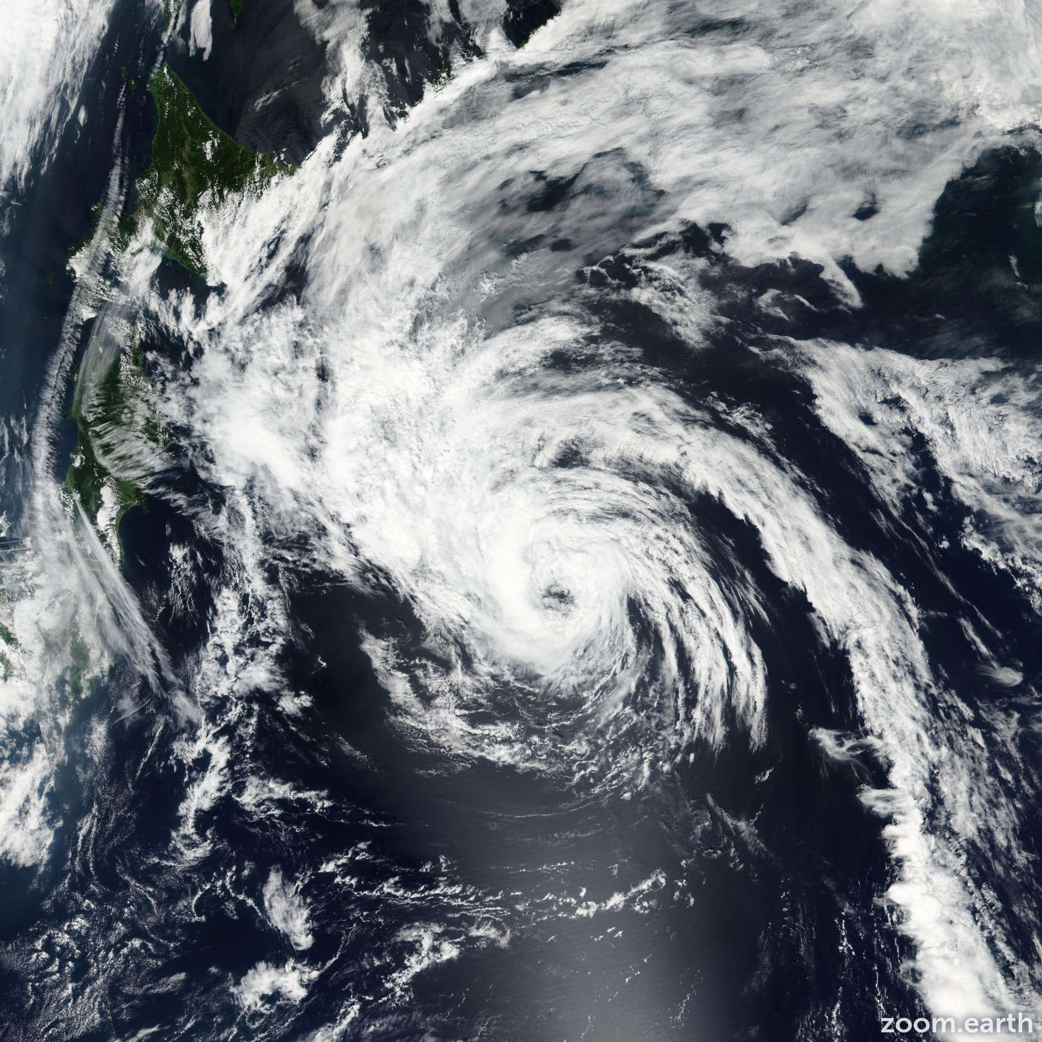 Satellite image of Storm Conson 2016