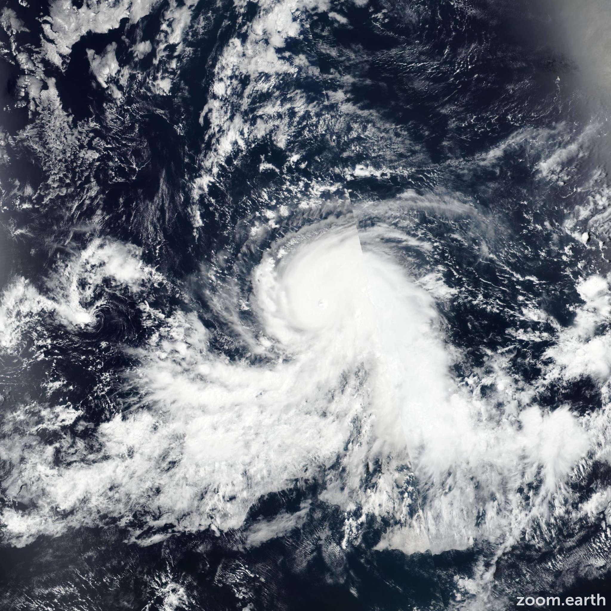 Satellite image of Hurricane Fernanda 2017